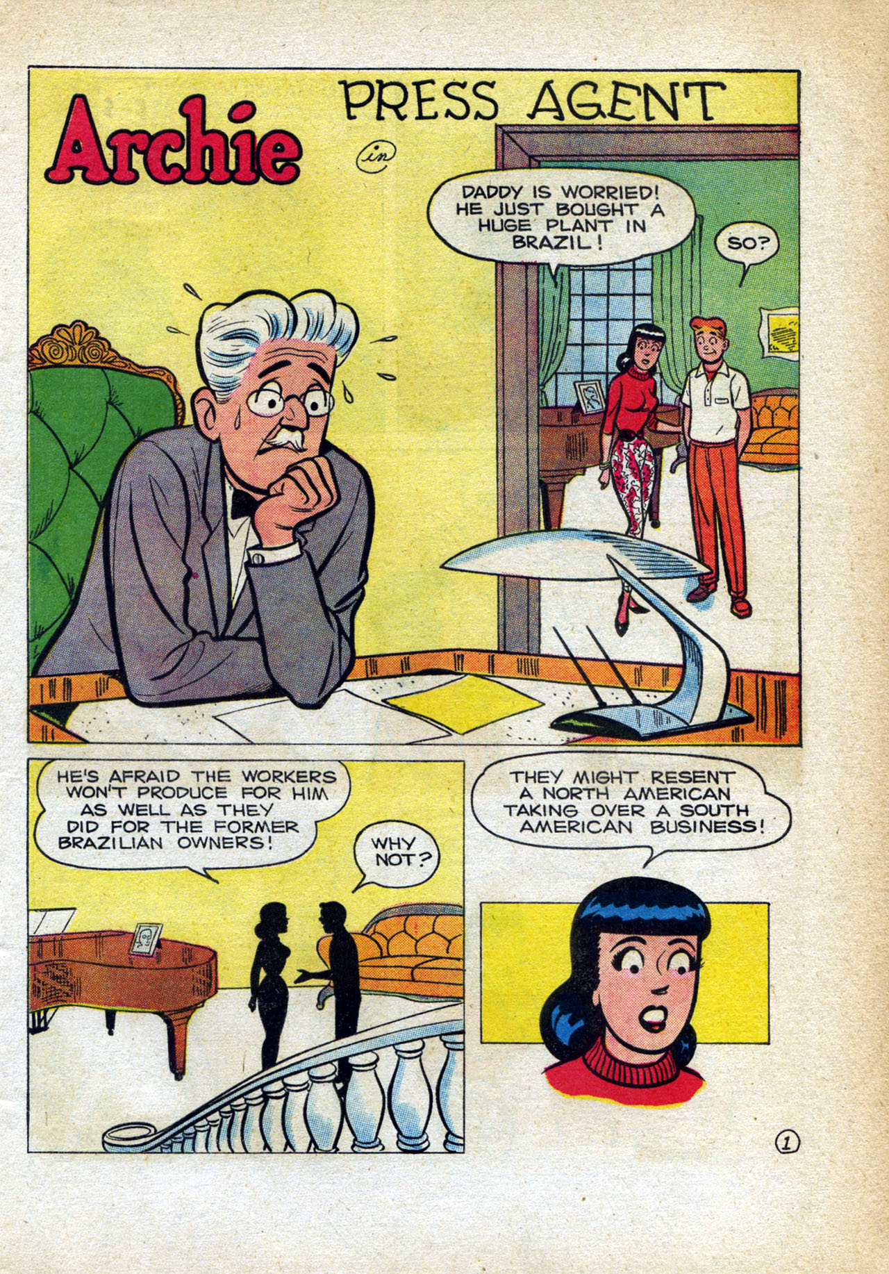 Read online Archie (1960) comic -  Issue #140 - 13