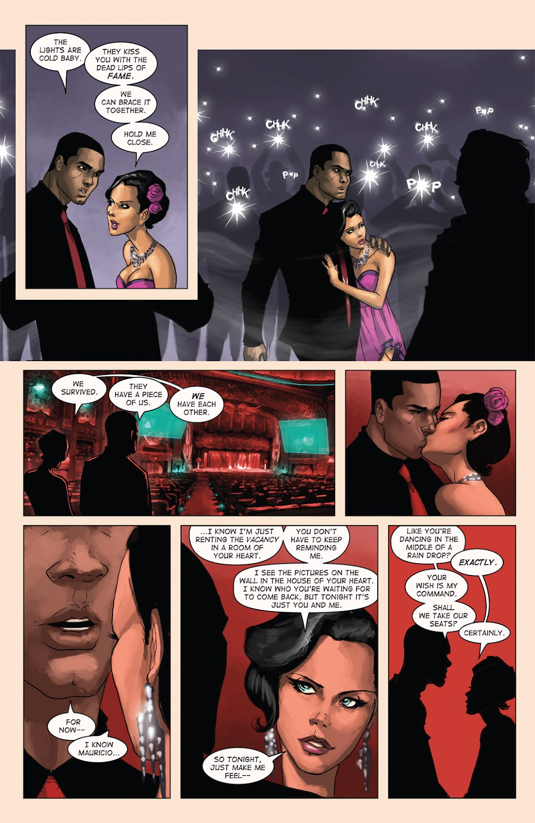 Read online Vescell comic -  Issue #4 - 17