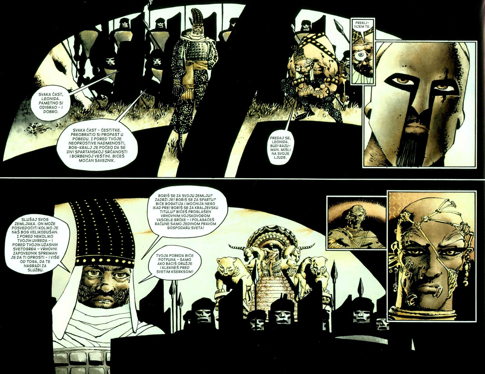 Read online 300 (2007) comic -  Issue # TPB - 75