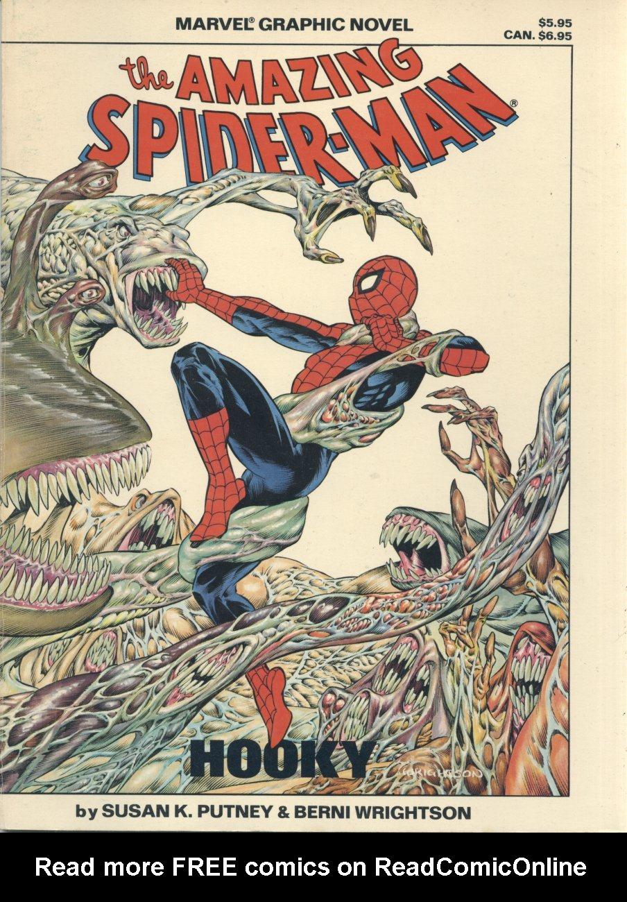 Marvel Graphic Novel 22_-_Spider-Man_-_Hooky Page 1