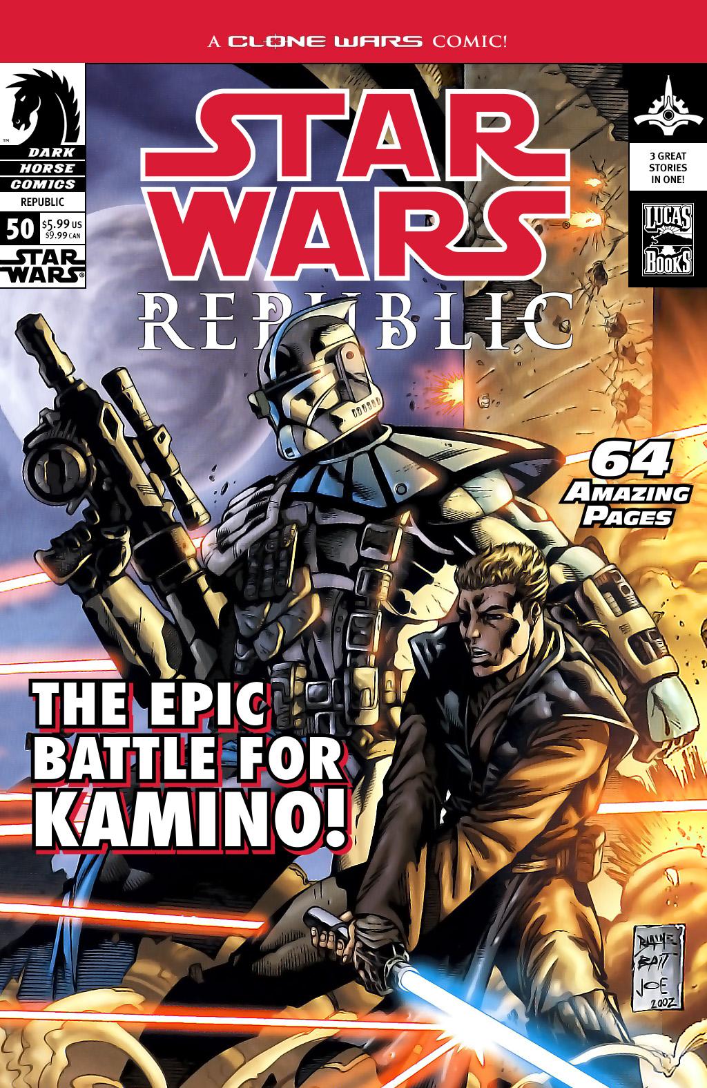 Star Wars: Republic 50 Page 1