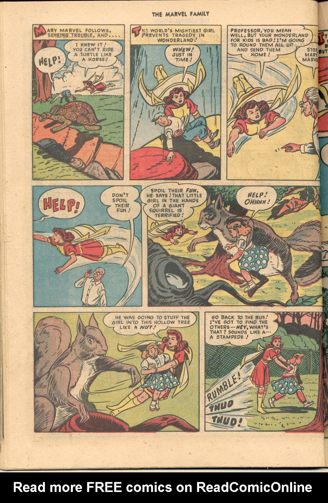 The Marvel Family issue 38 - Page 30