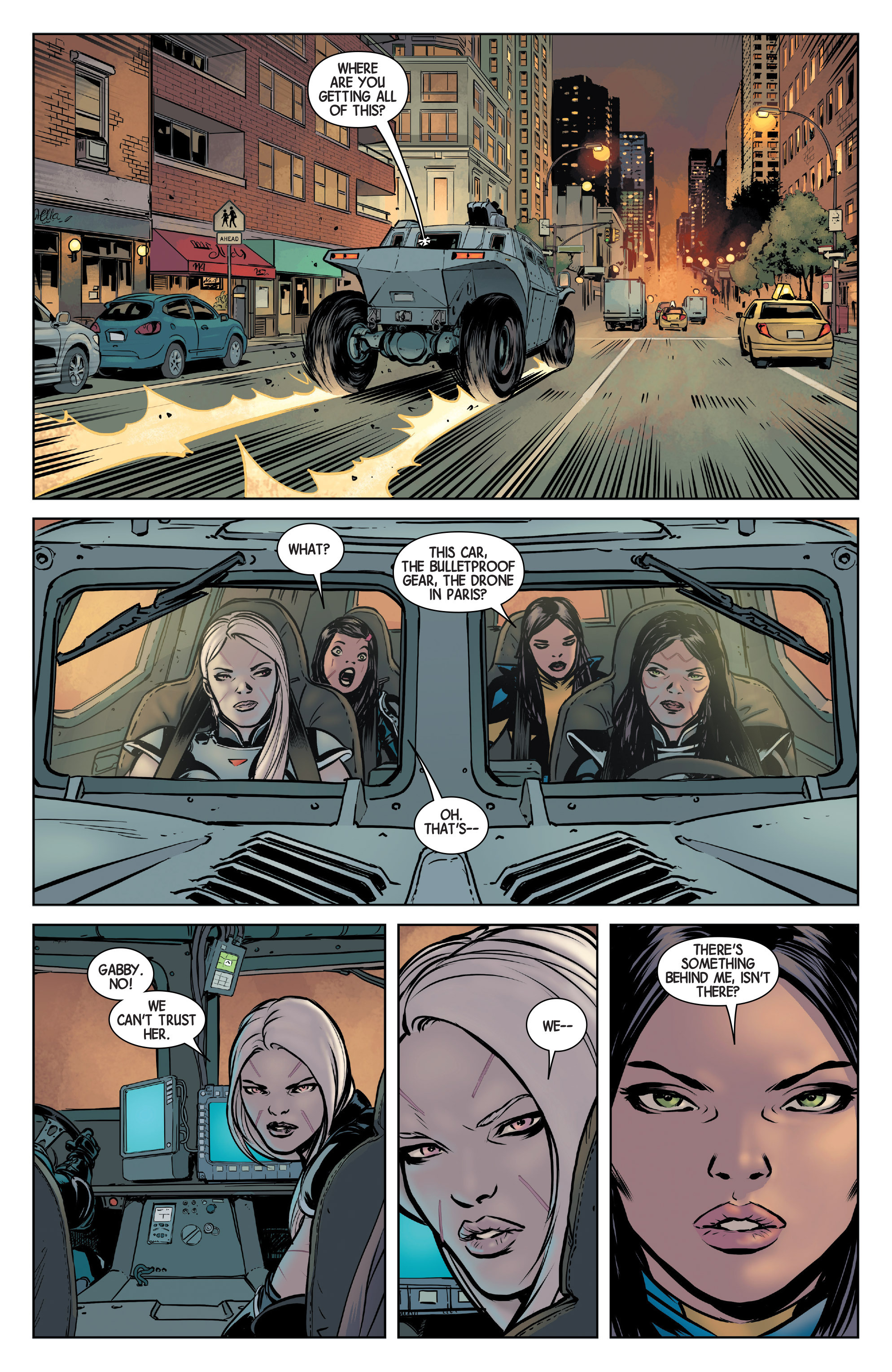 Read online All-New Wolverine (2016) comic -  Issue #3 - 10