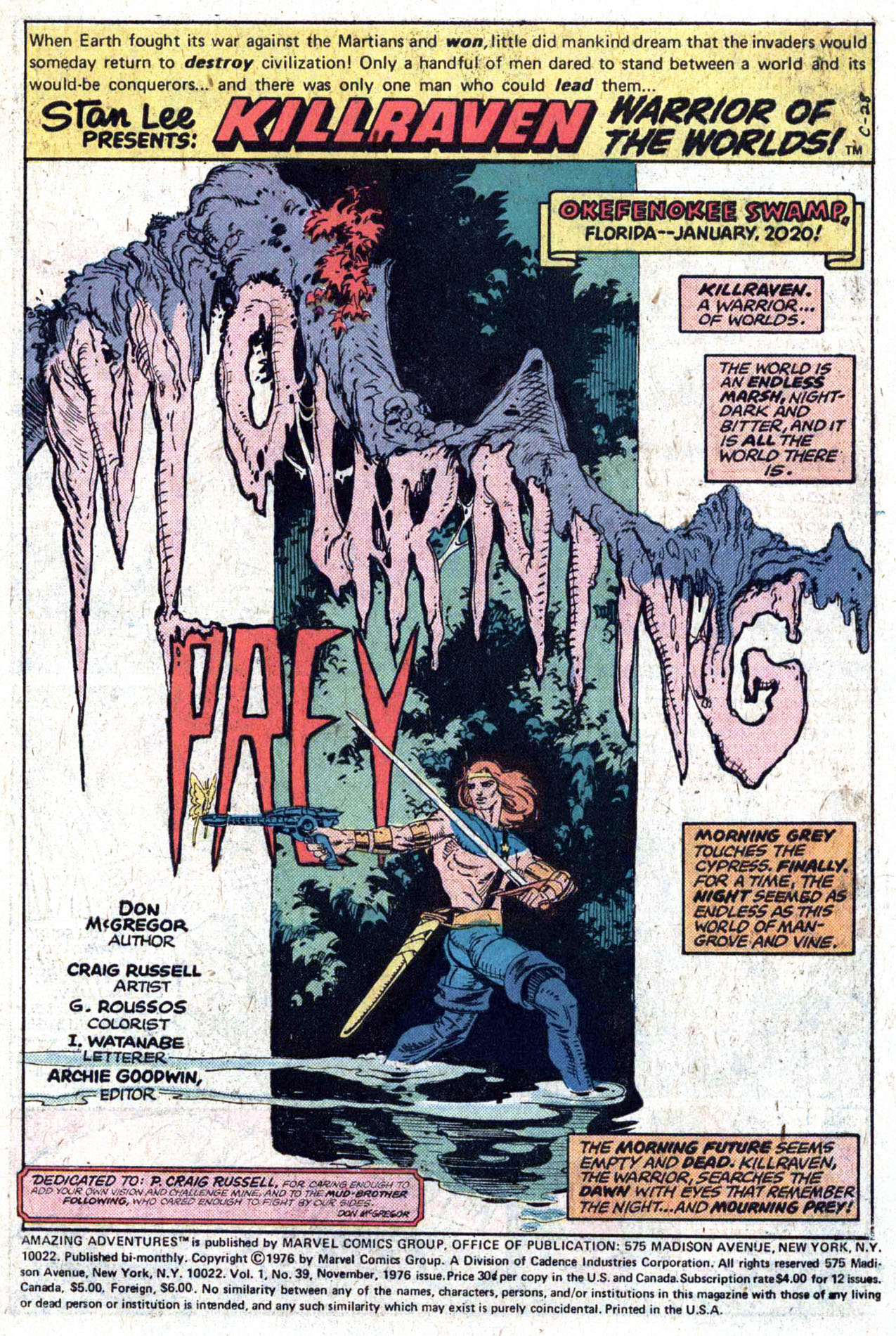 Read online Amazing Adventures (1970) comic -  Issue #39 - 3