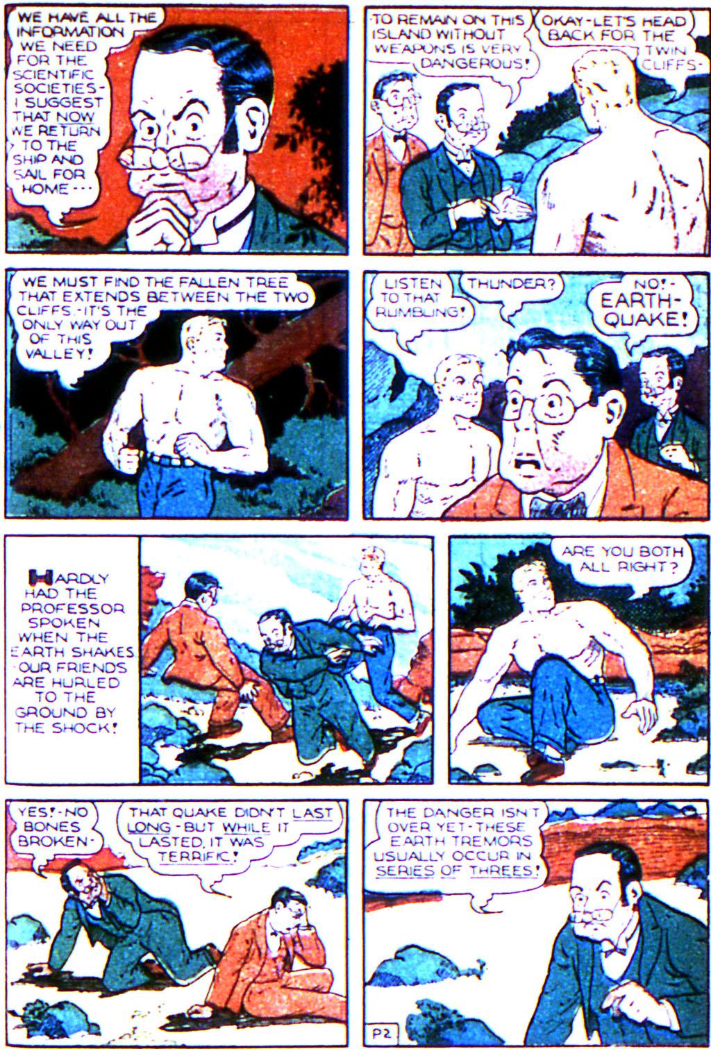 Read online Adventure Comics (1938) comic -  Issue #43 - 29