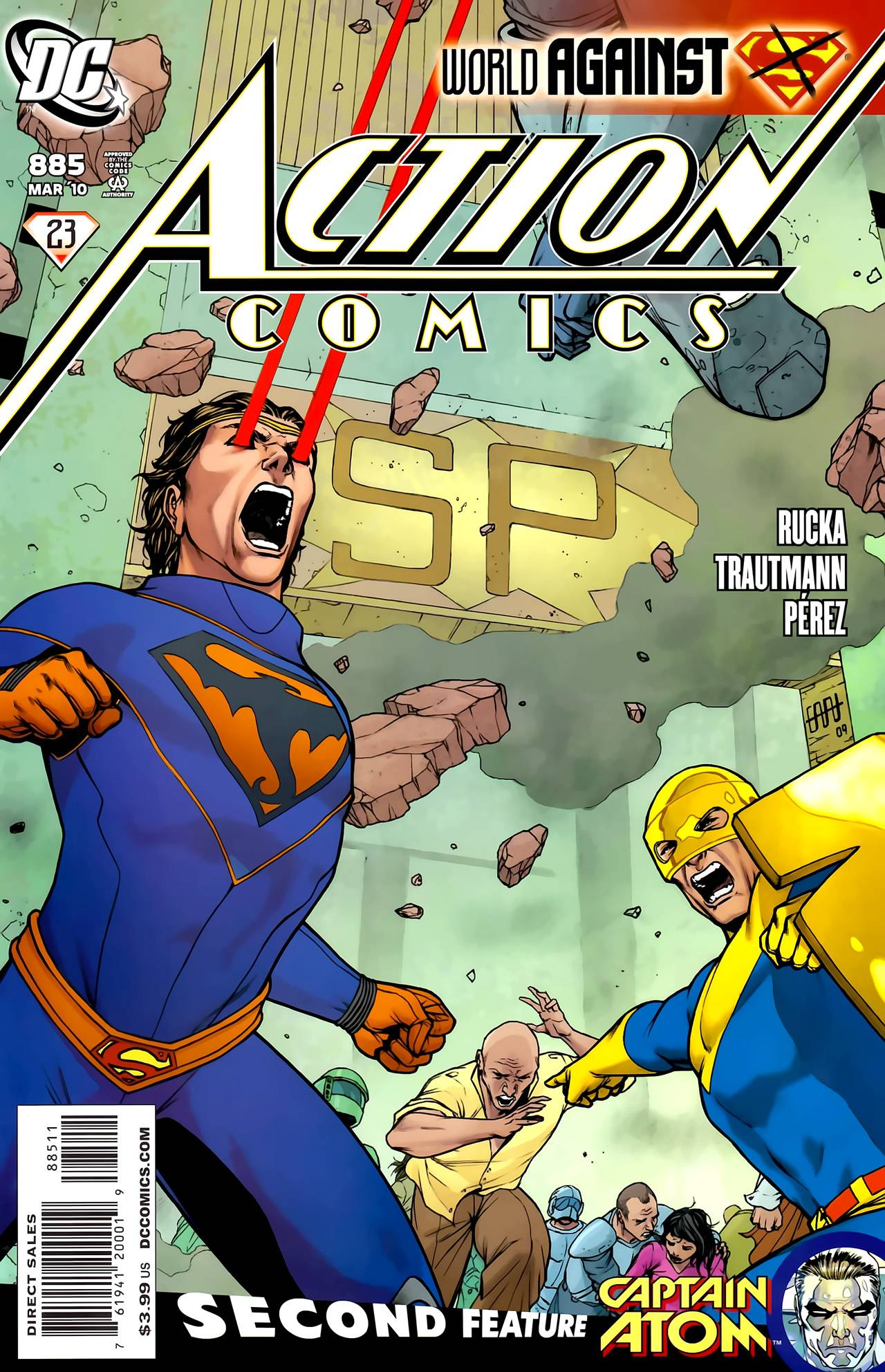 Read online Action Comics (1938) comic -  Issue #885 - 1