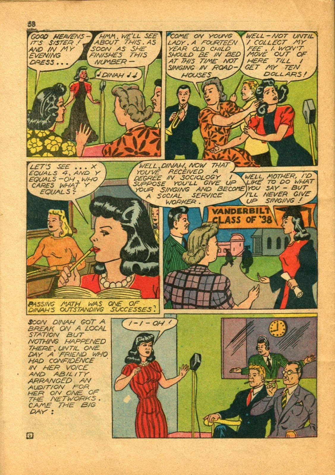 Read online Super-Magician Comics comic -  Issue #11 - 58