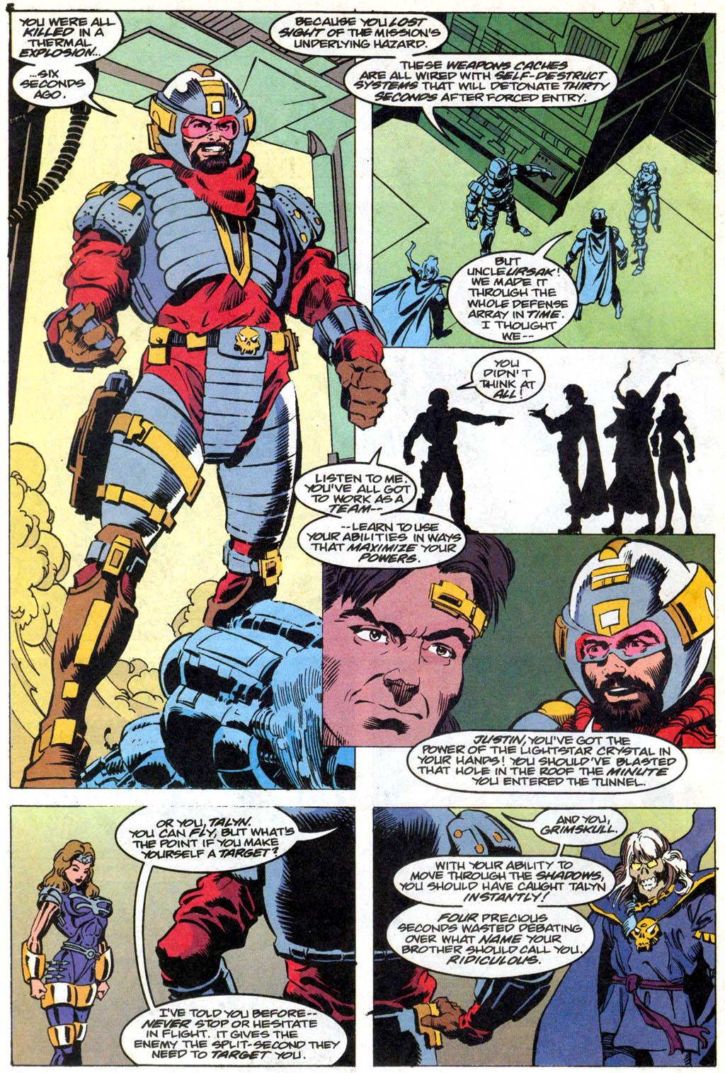 Skeleton Warriors Issue #1 #1 - English 11