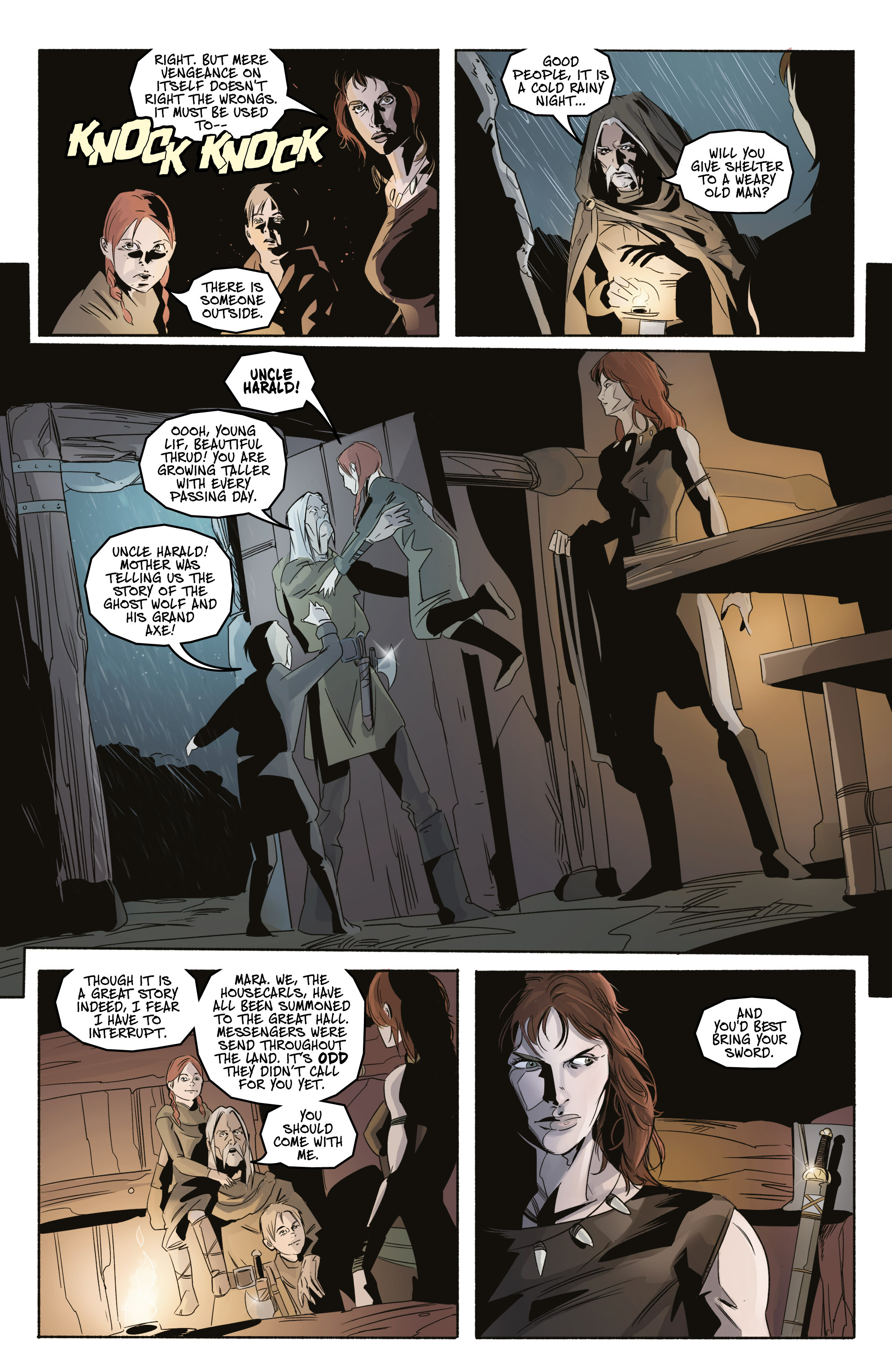 Read online Ghost Wolf comic -  Issue #3 - 5