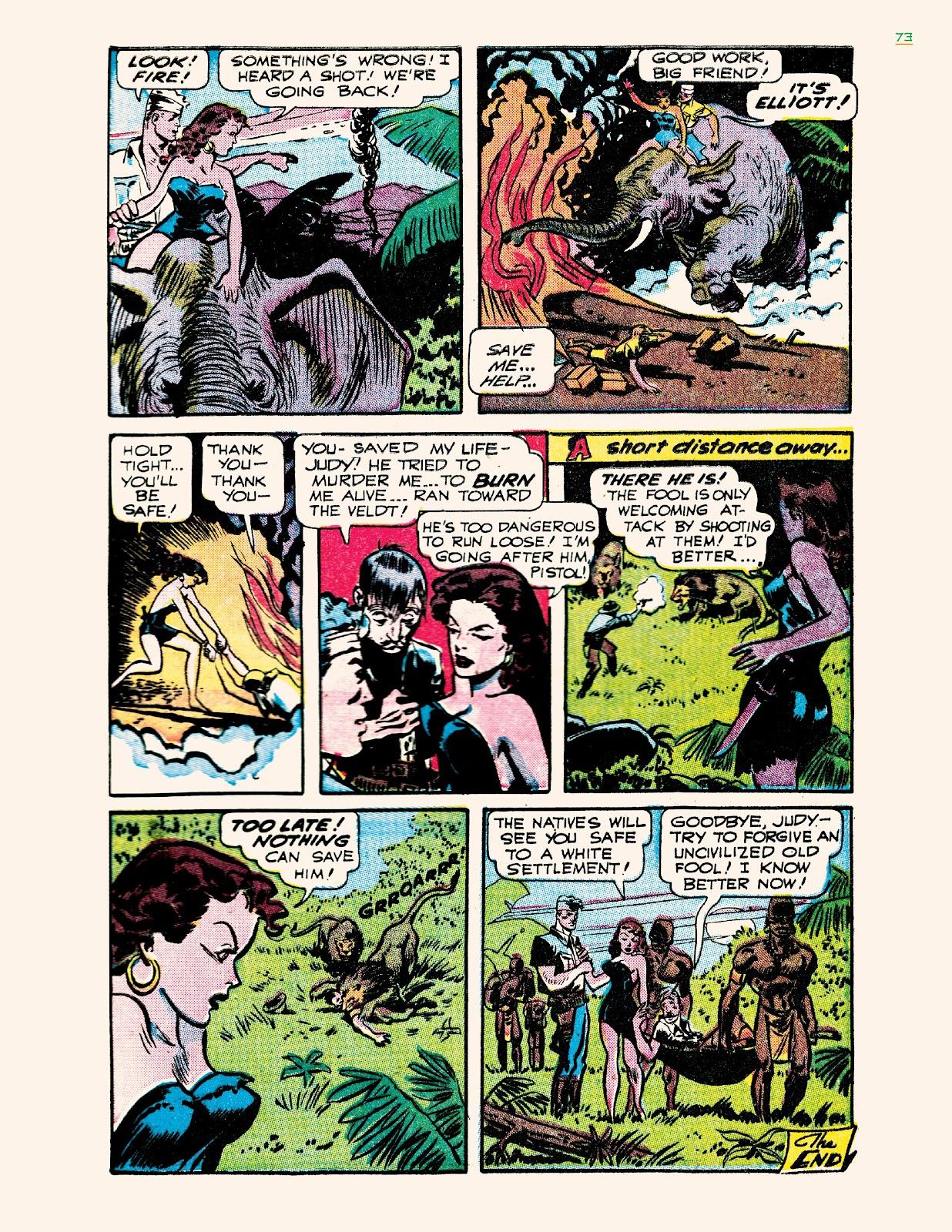 Read online Jungle Girls comic -  Issue # TPB (Part 1) - 73