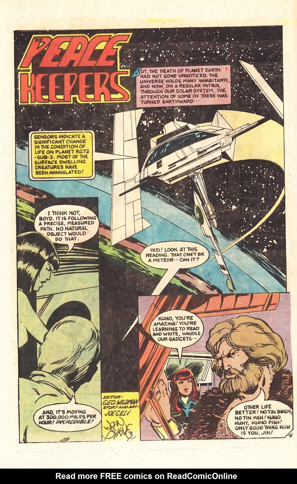 Read online Doomsday   1 (1975) comic -  Issue #3 - 4