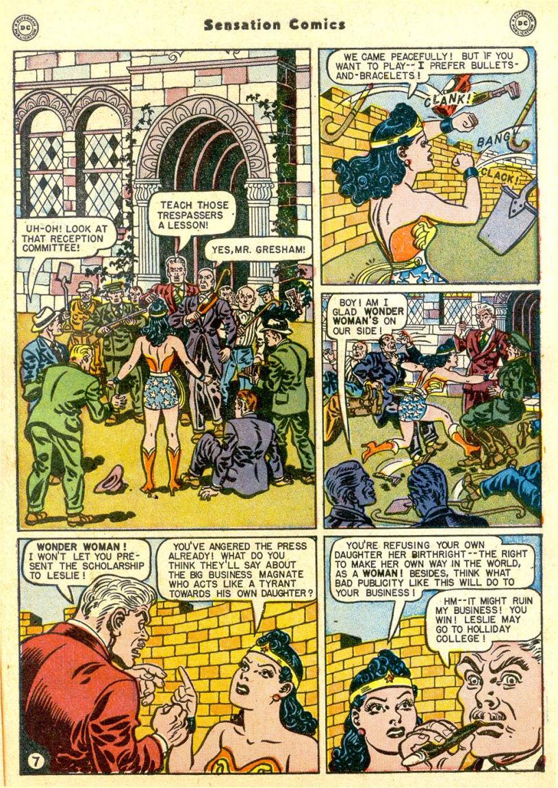 Read online Sensation (Mystery) Comics comic -  Issue #85 - 8