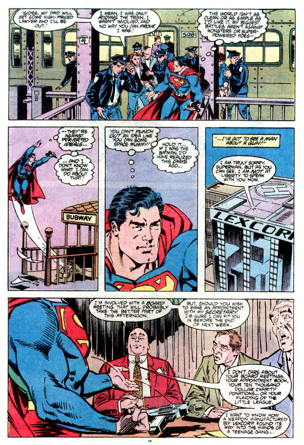 Read online Adventures of Superman (1987) comic -  Issue #432 - 15
