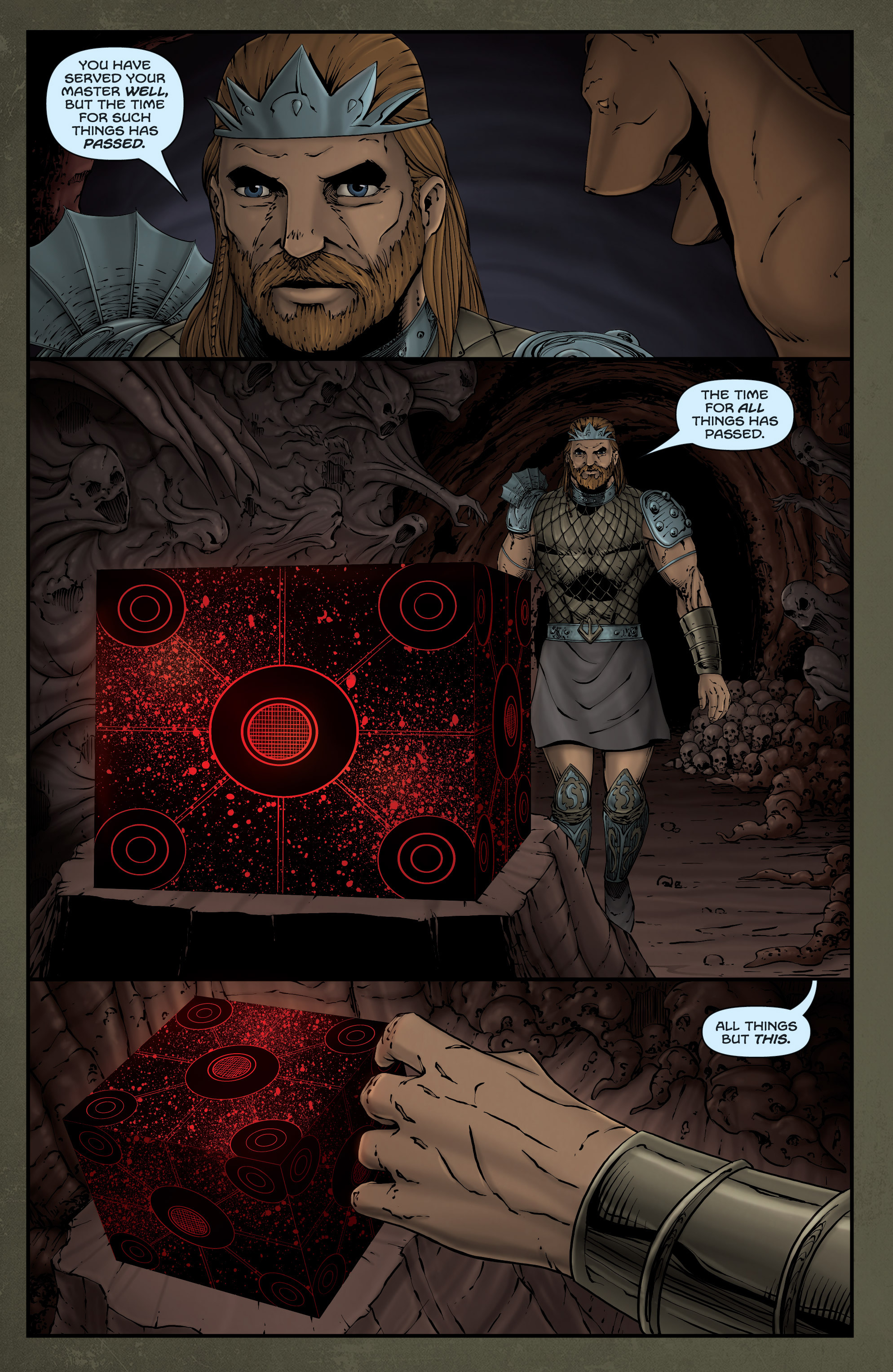 Read online Grimm Fairy Tales presents Grimm Universe comic -  Issue # TPB - 44