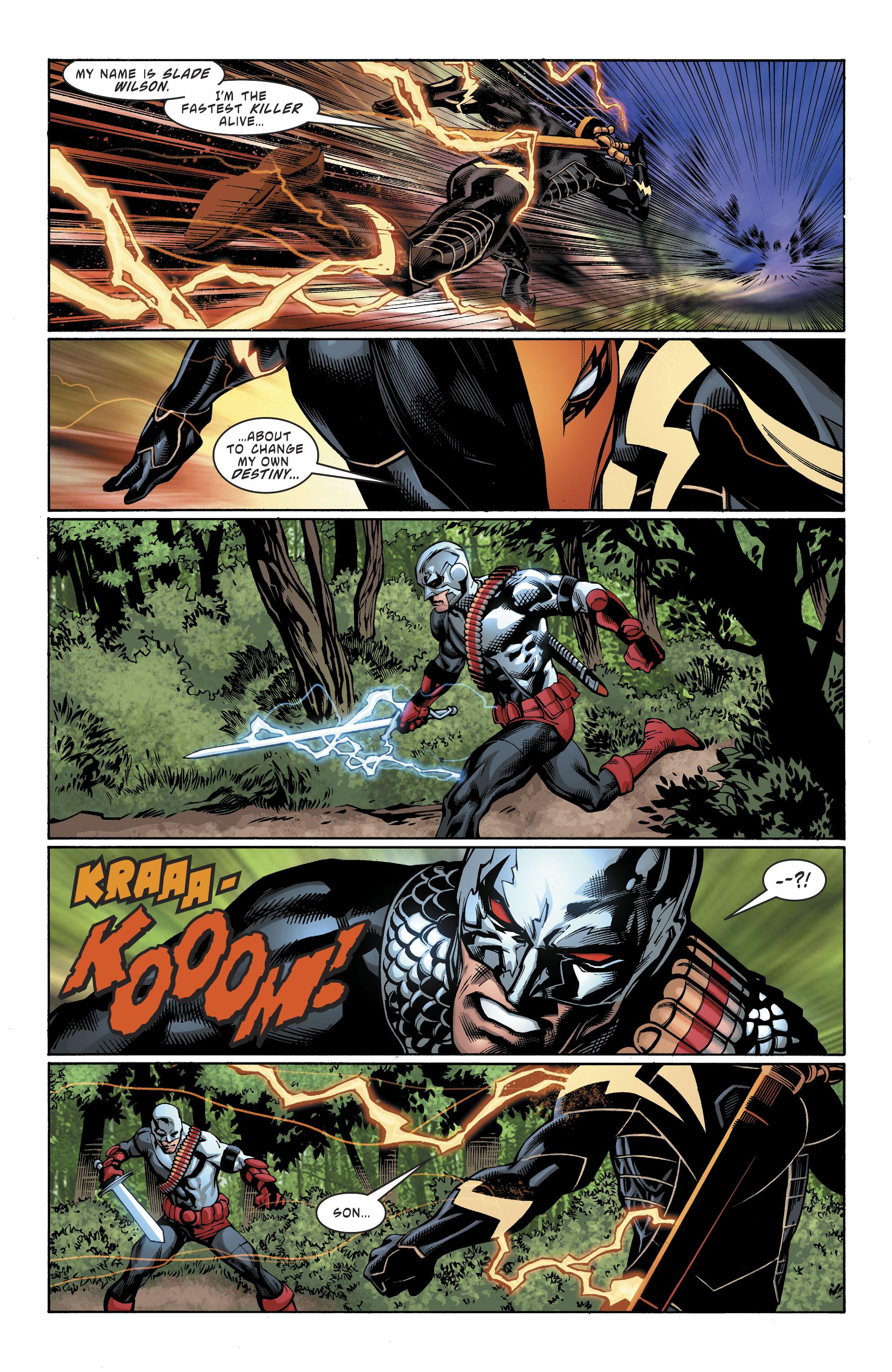 Read online Deathstroke (2016) comic -  Issue #19 - 22