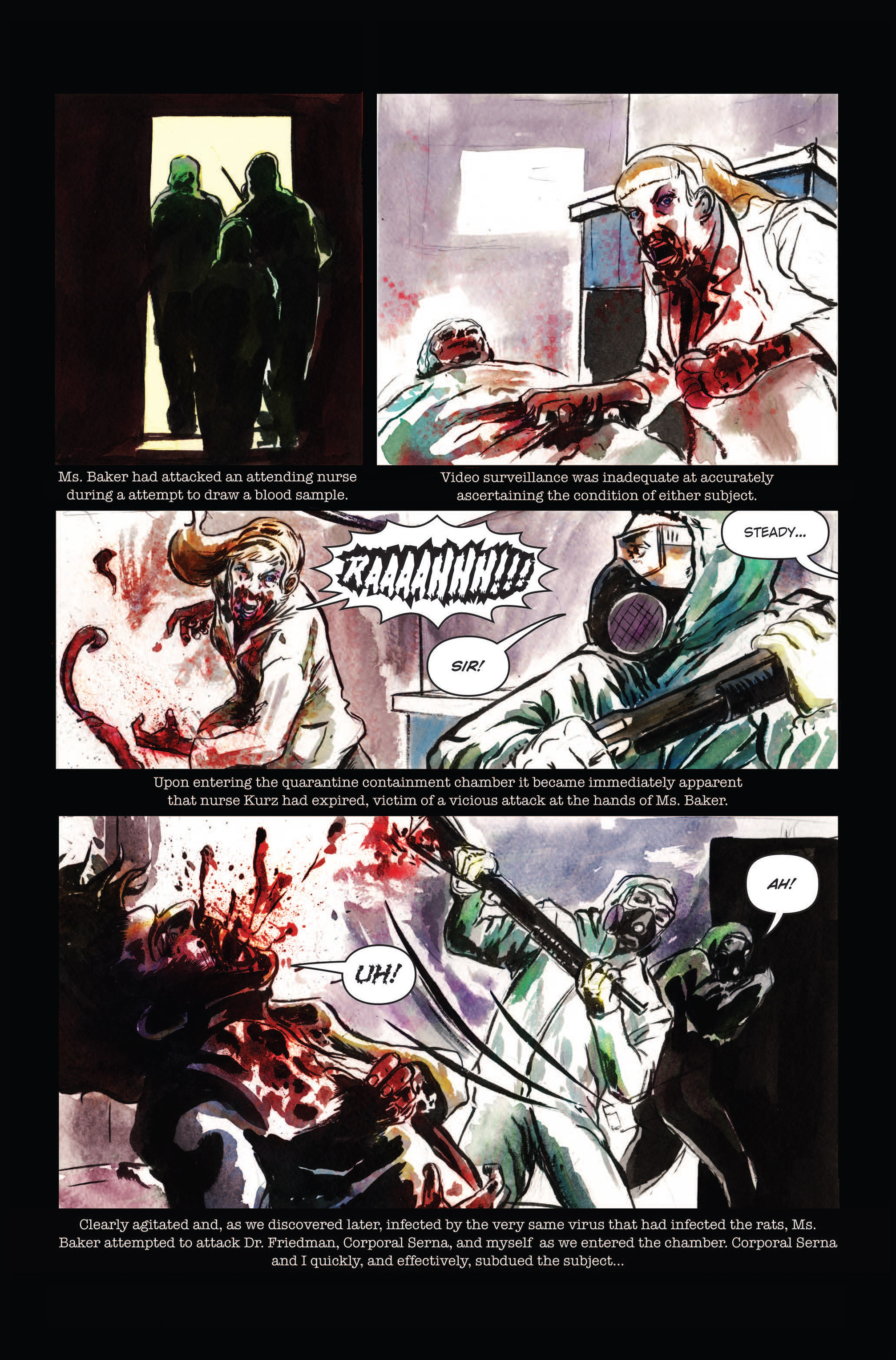 Read online The Final Plague comic -  Issue #3 - 6