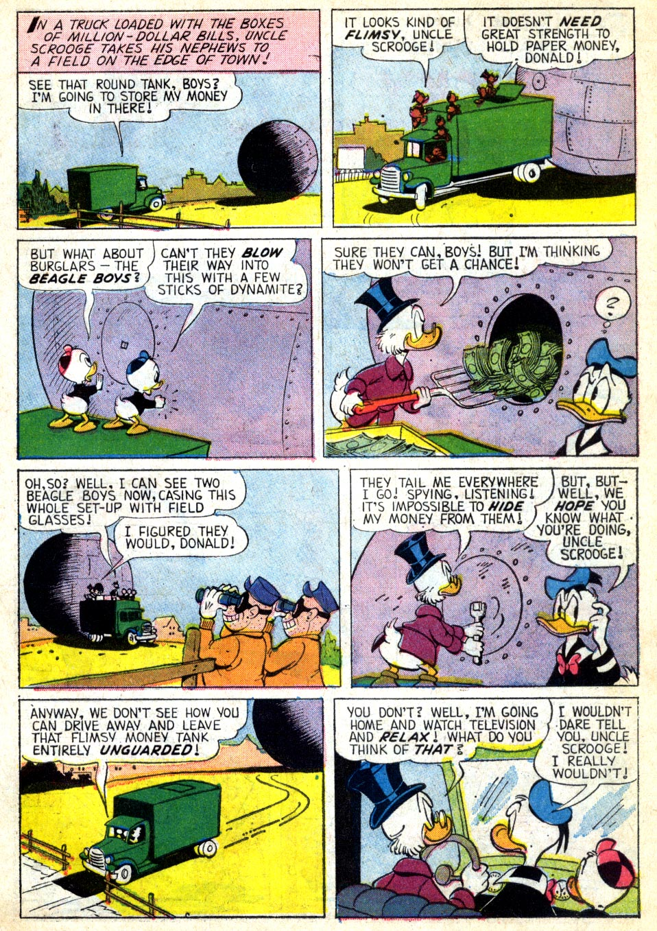 Read online Uncle Scrooge (1953) comic -  Issue #39 - 26