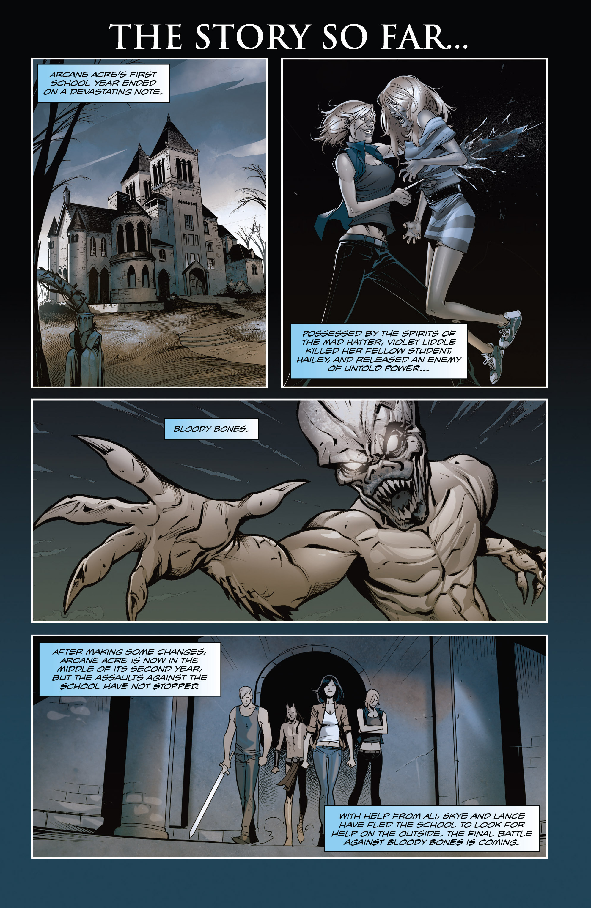 Read online Grimm Fairy Tales: Arcane Acre comic -  Issue # TPB 4 - 4