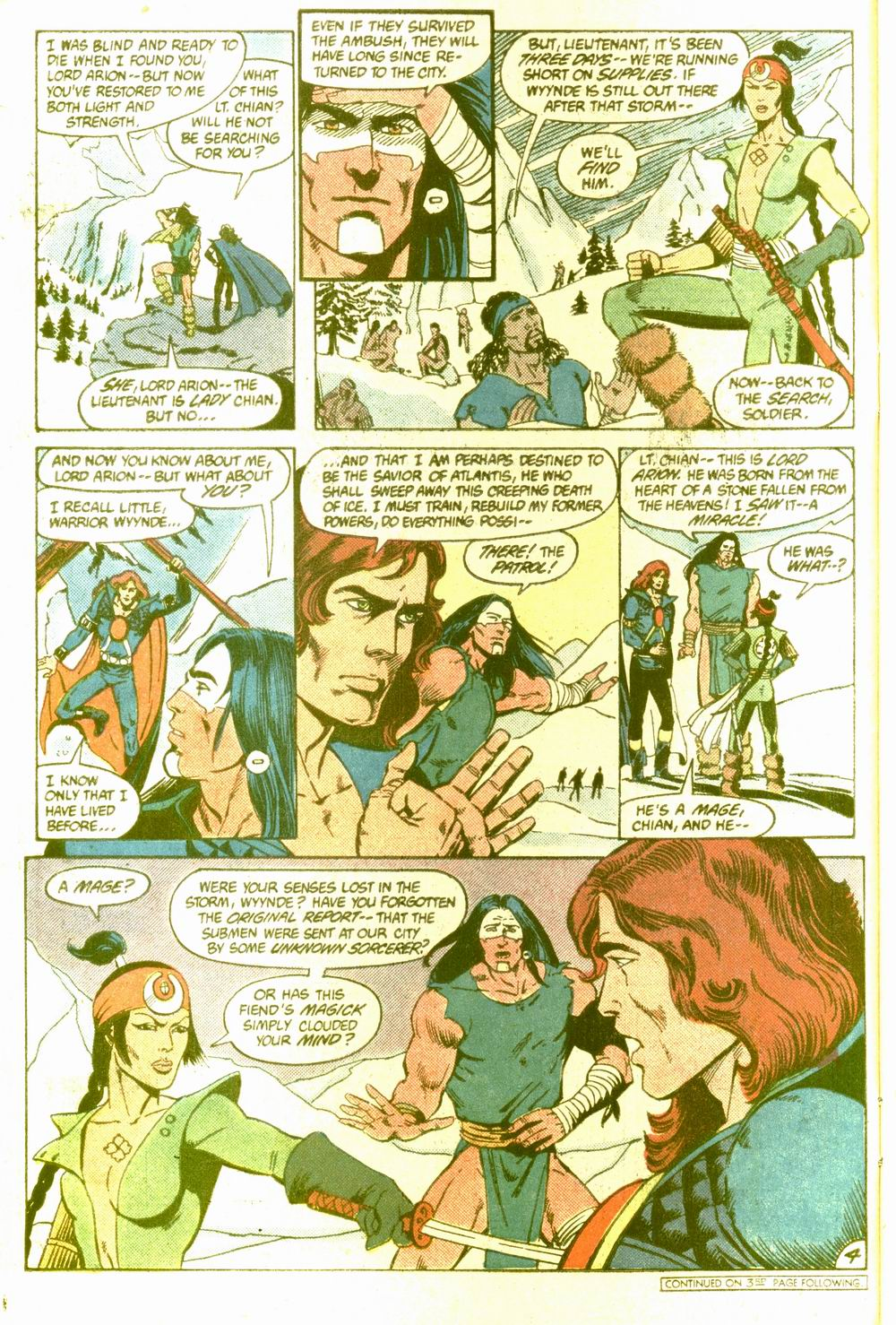 Read online Arion, Lord of Atlantis comic -  Issue #5 - 5