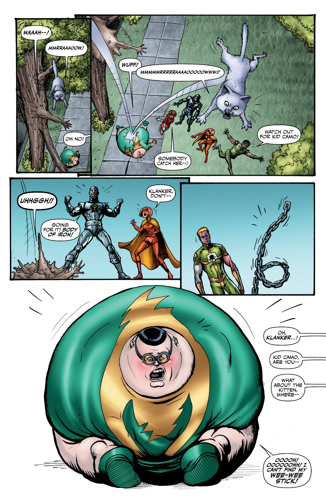 Read online The Boys Omnibus comic -  Issue # TPB 4 (Part 1) - 60