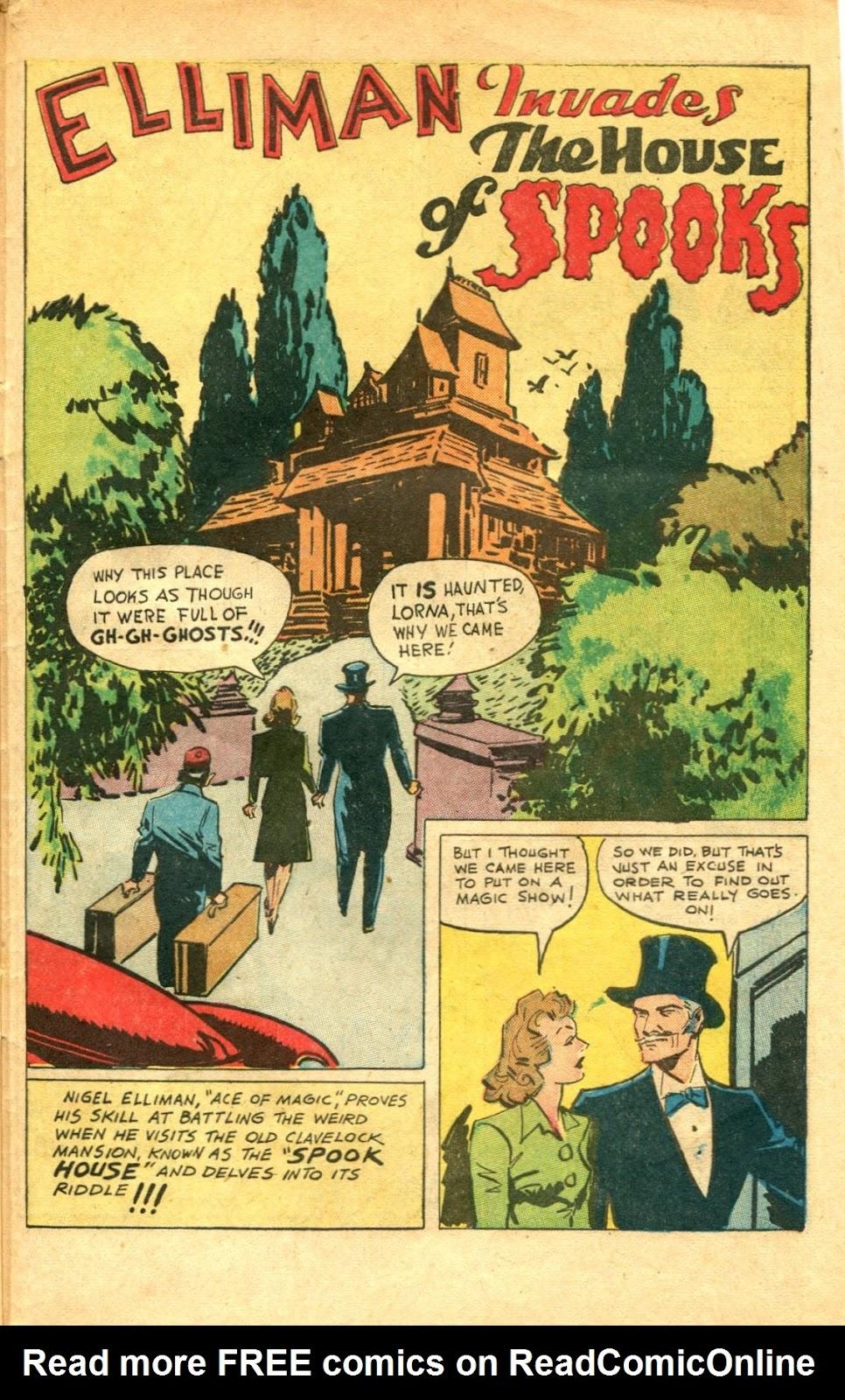Read online Super-Magician Comics comic -  Issue #48 - 43