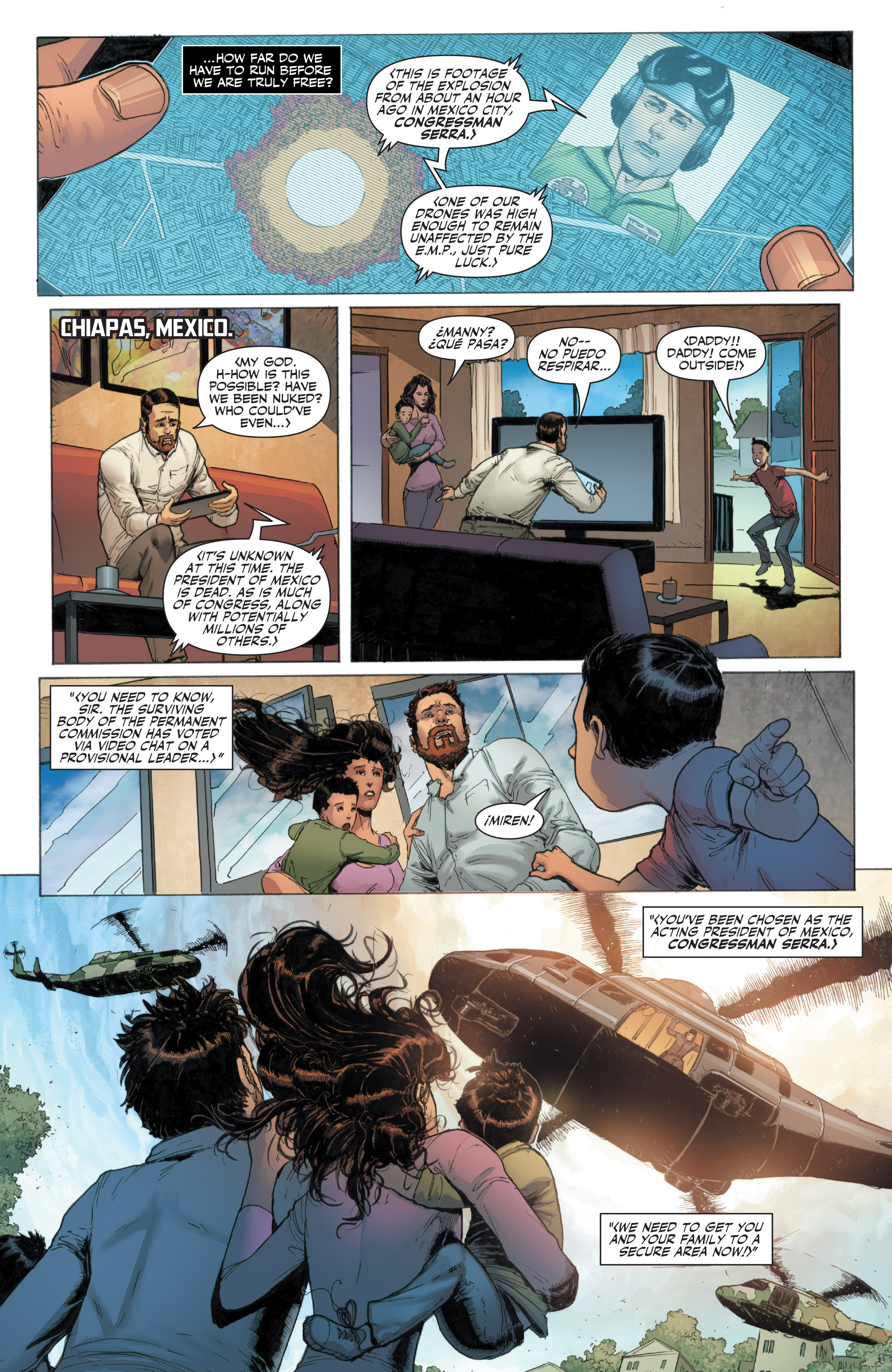 Read online Armor Hunters: Harbinger comic -  Issue # TPB - 11