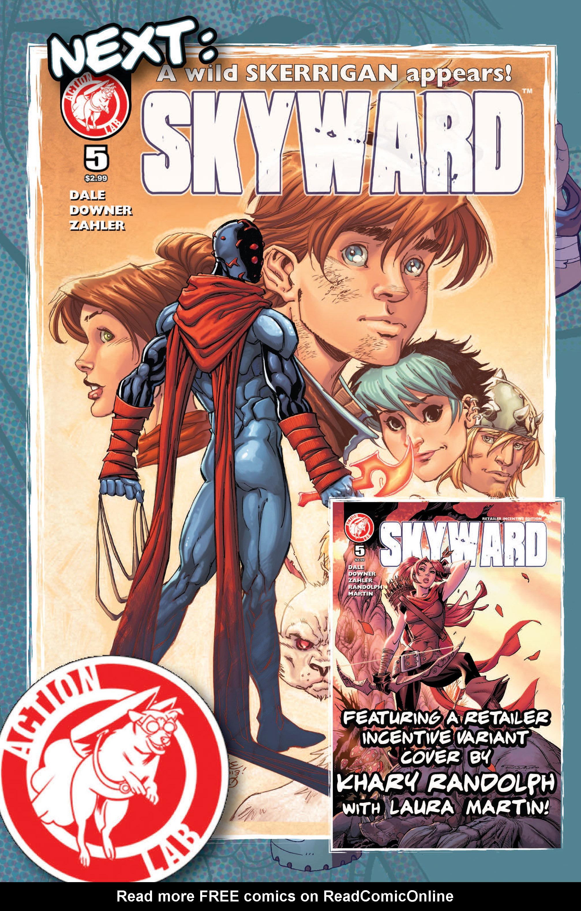 Read online Skyward comic -  Issue #4 - 30