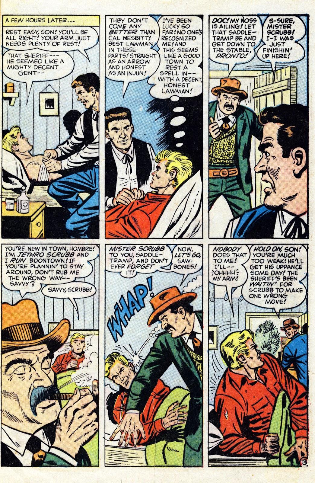 Gunsmoke Western issue 76 - Page 5