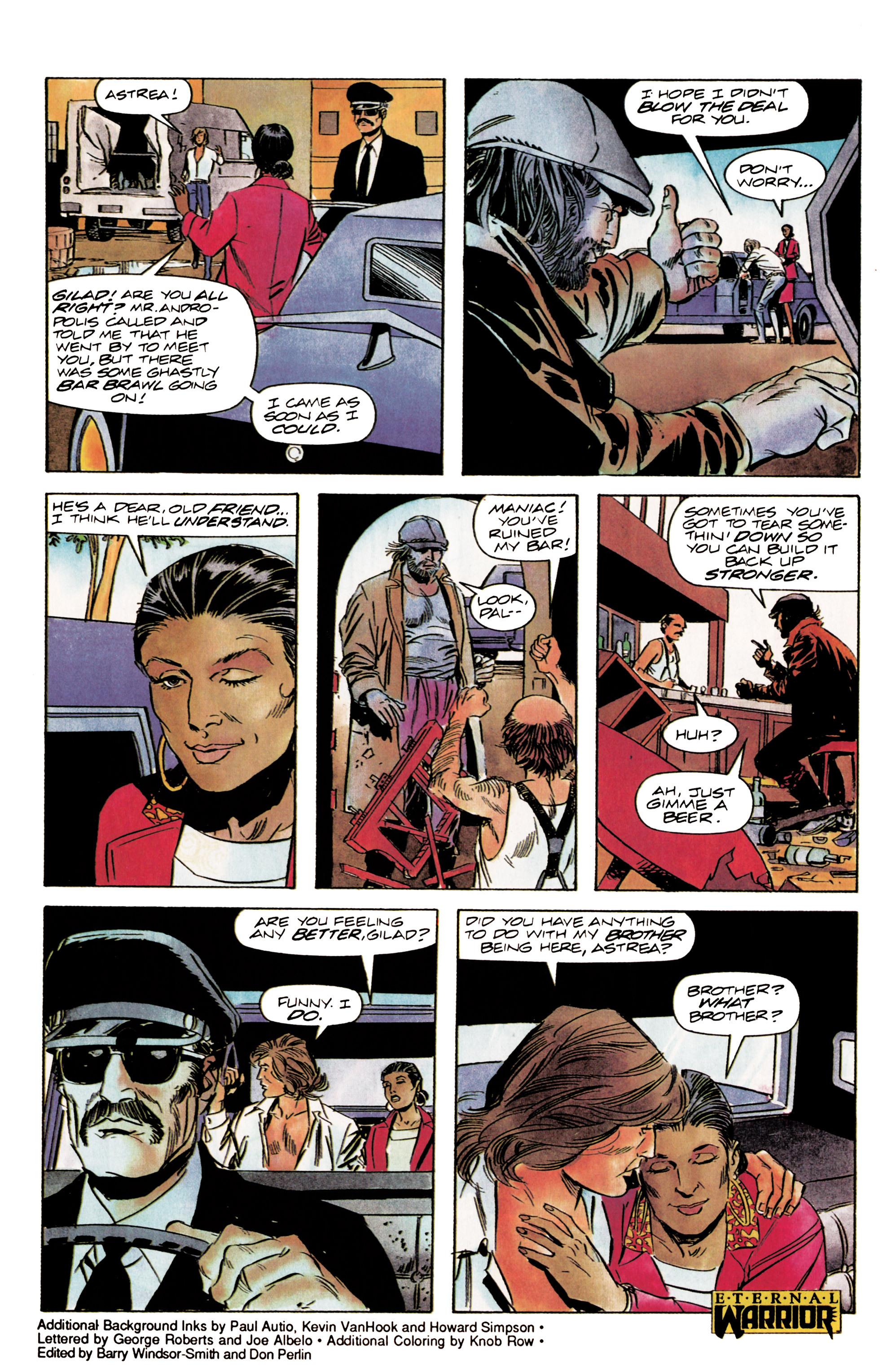 Read online Eternal Warrior (1992) comic -  Issue #3 - 23