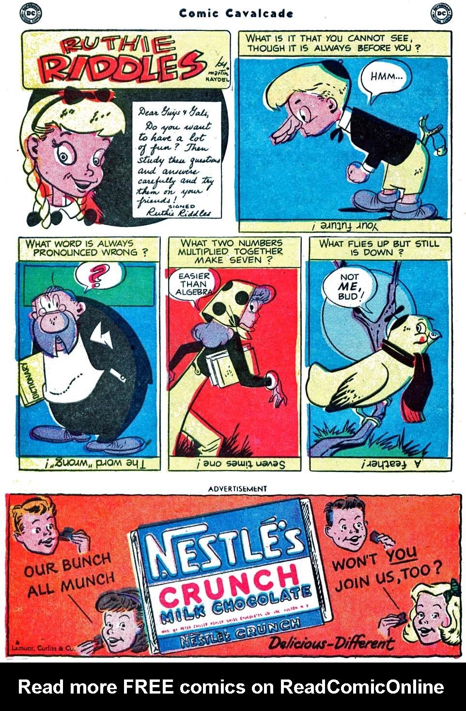 Comic Cavalcade issue 40 - Page 44