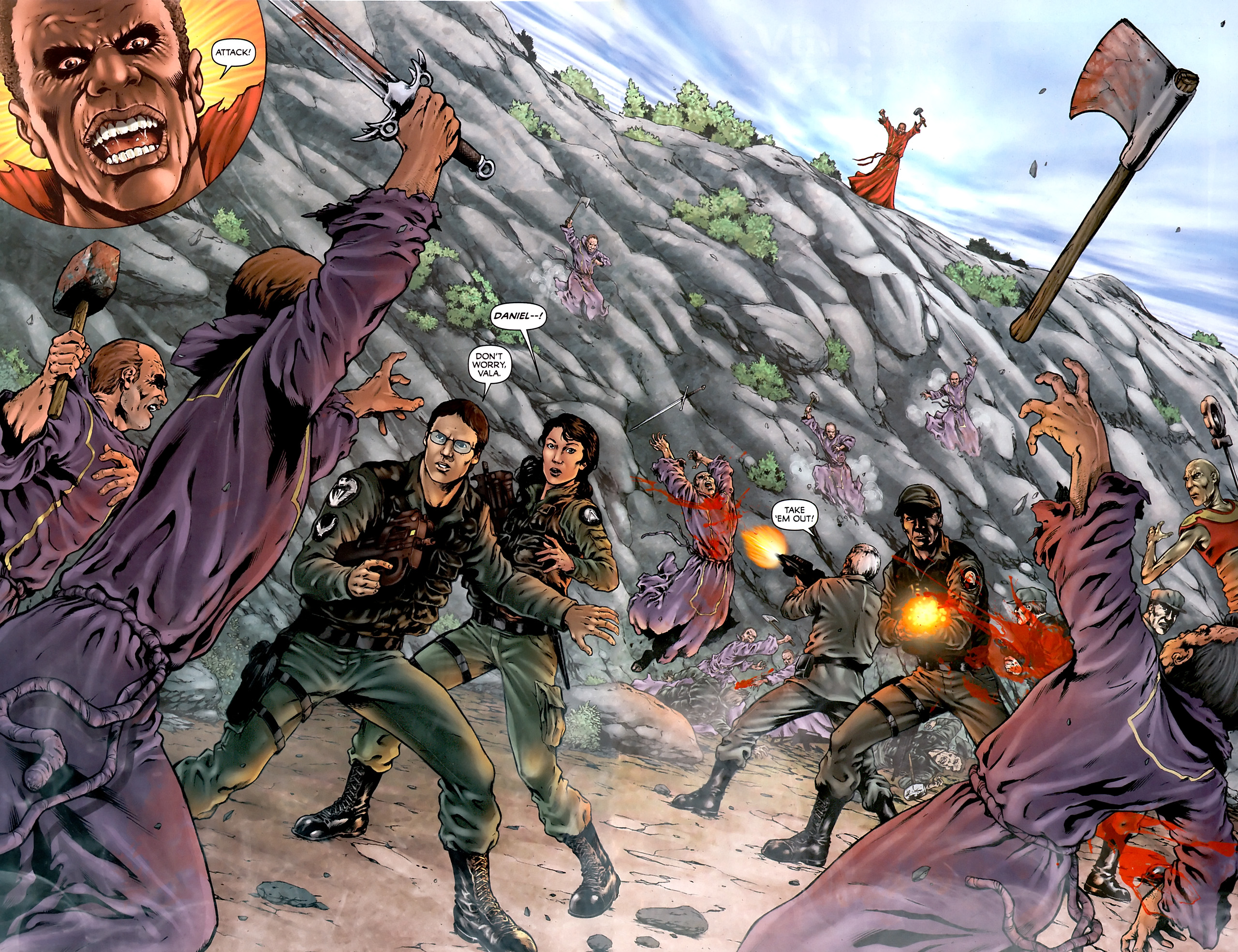 Read online Stargate Vala Mal Doran comic -  Issue #4 - 4