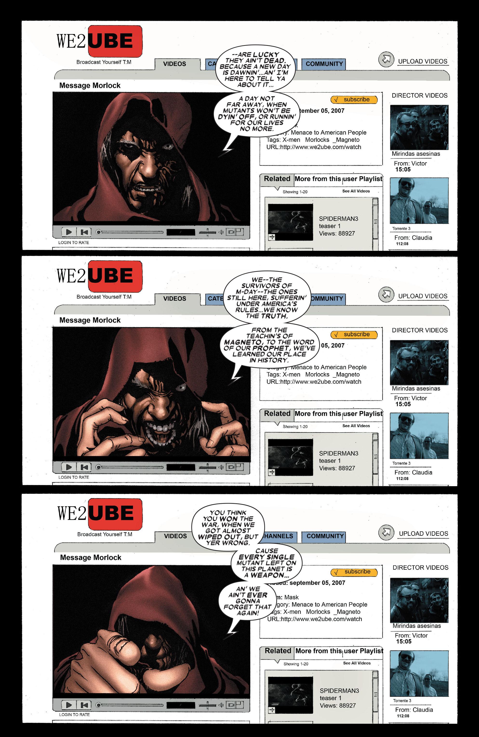 Read online Uncanny X-Men (1963) comic -  Issue #489 - 12