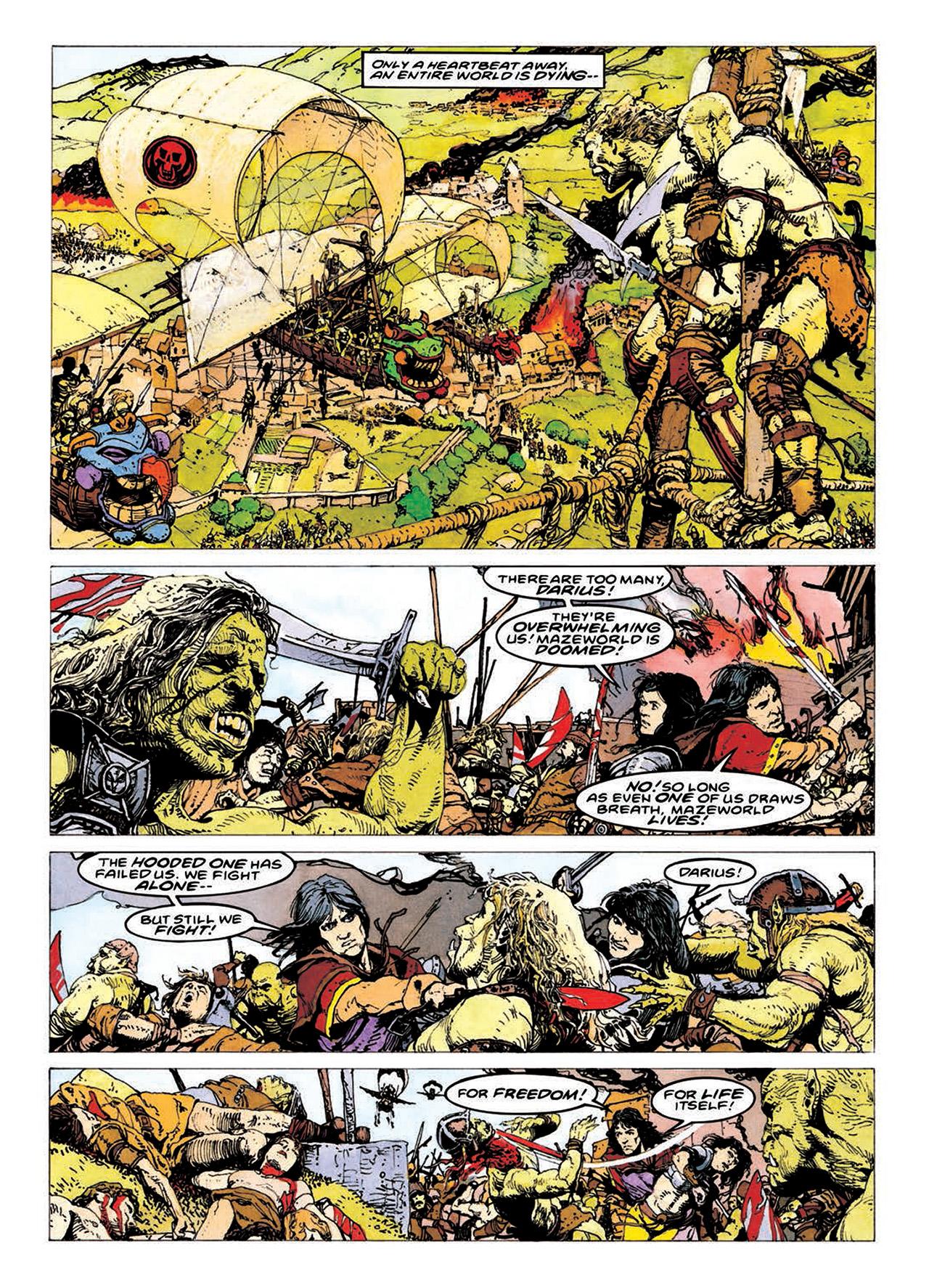 Read online Mazeworld comic -  Issue # TPB - 183