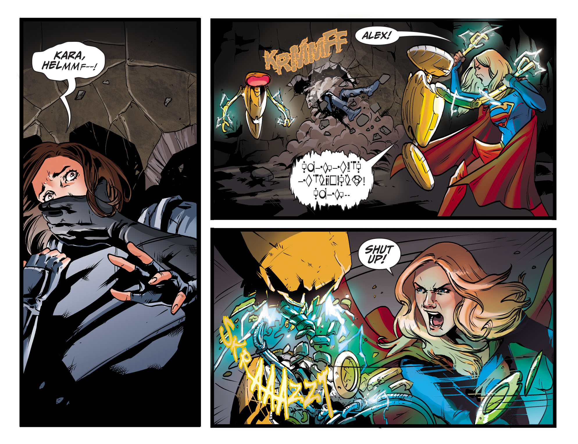 Read online Adventures of Supergirl comic -  Issue #9 - 7