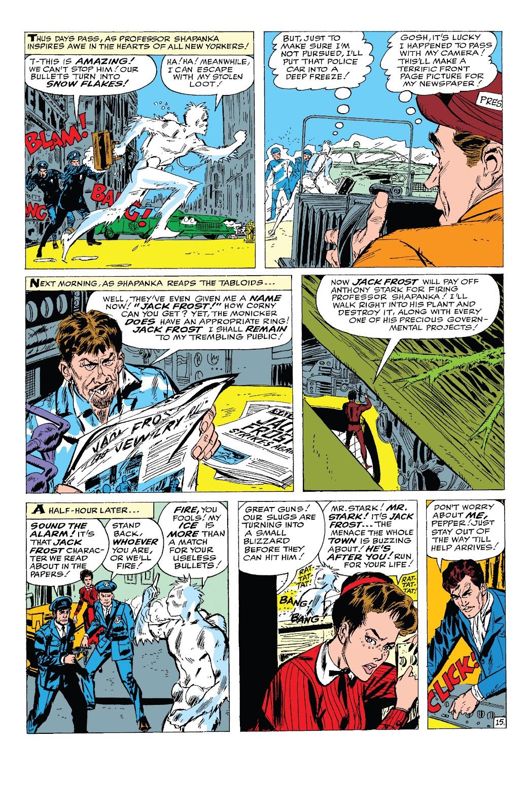 Read online Marvel Tales: Iron Man comic -  Issue # Full - 34