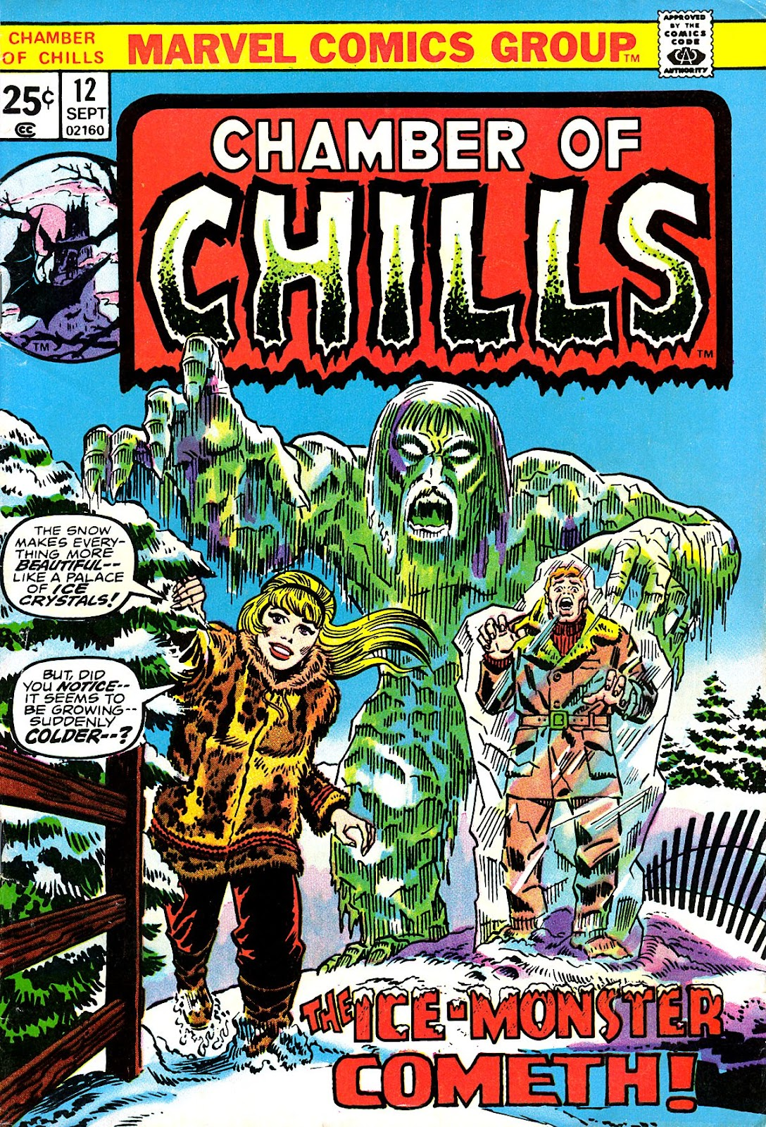 Chamber of Chills (1972) issue 12 - Page 1