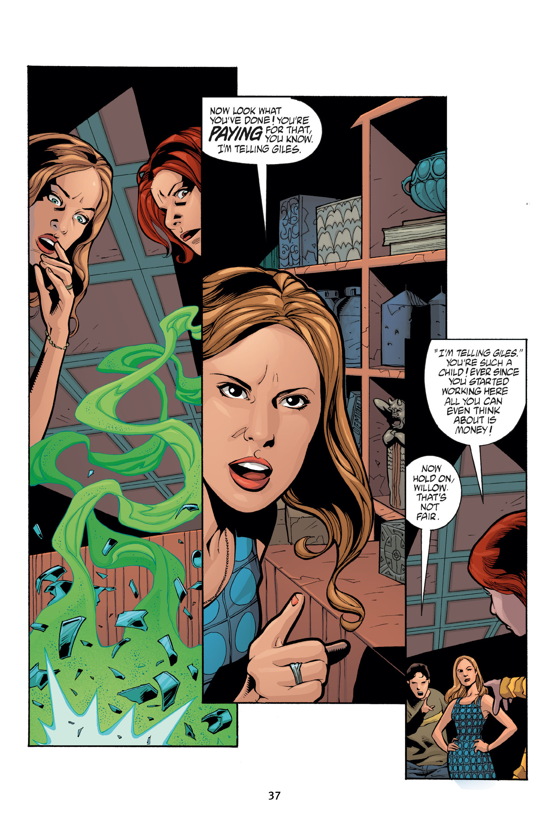 Read online Buffy the Vampire Slayer: Omnibus comic -  Issue # TPB 7 - 39