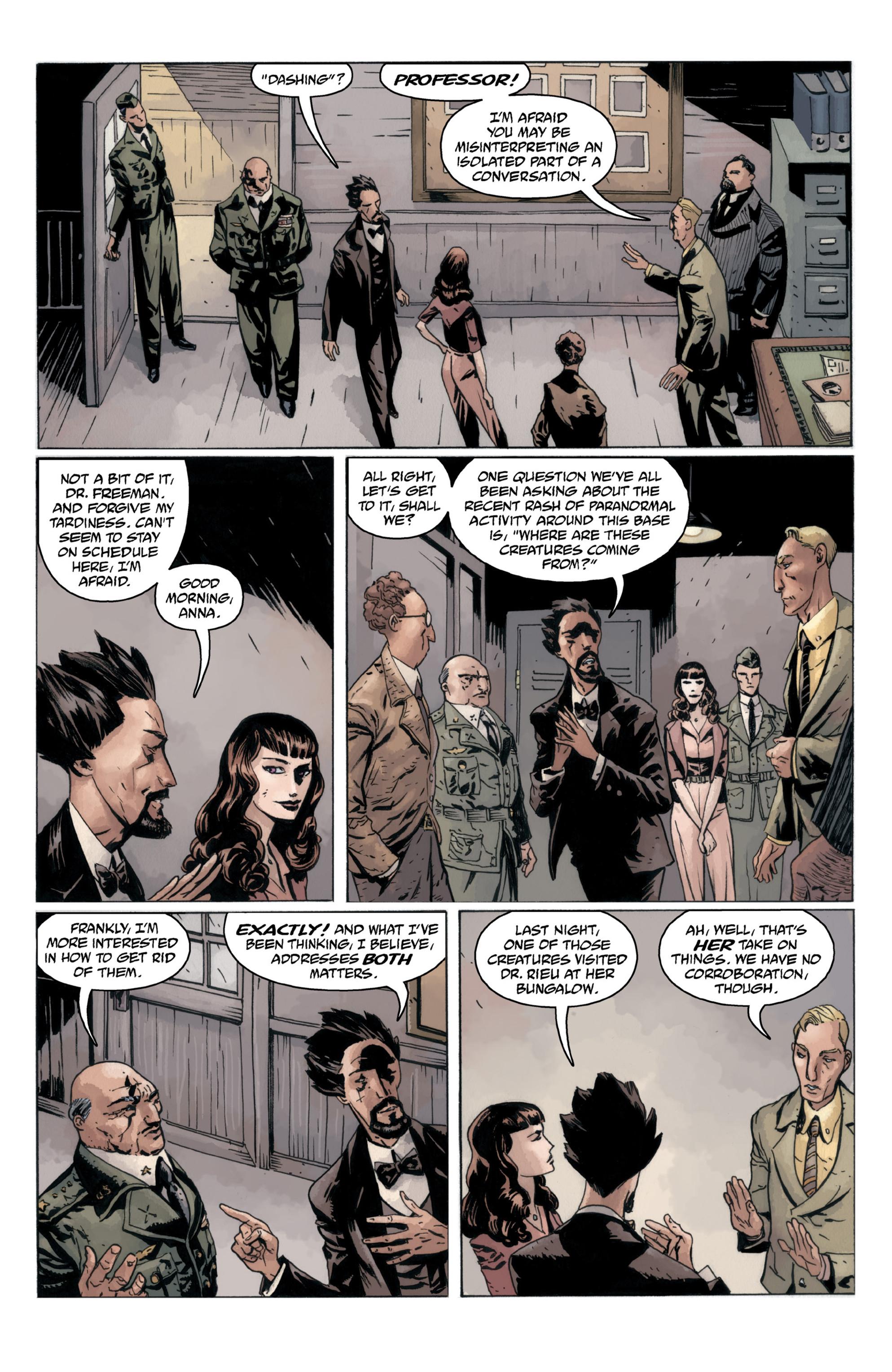 Read online B.P.R.D.: 1948 comic -  Issue # TPB - 82