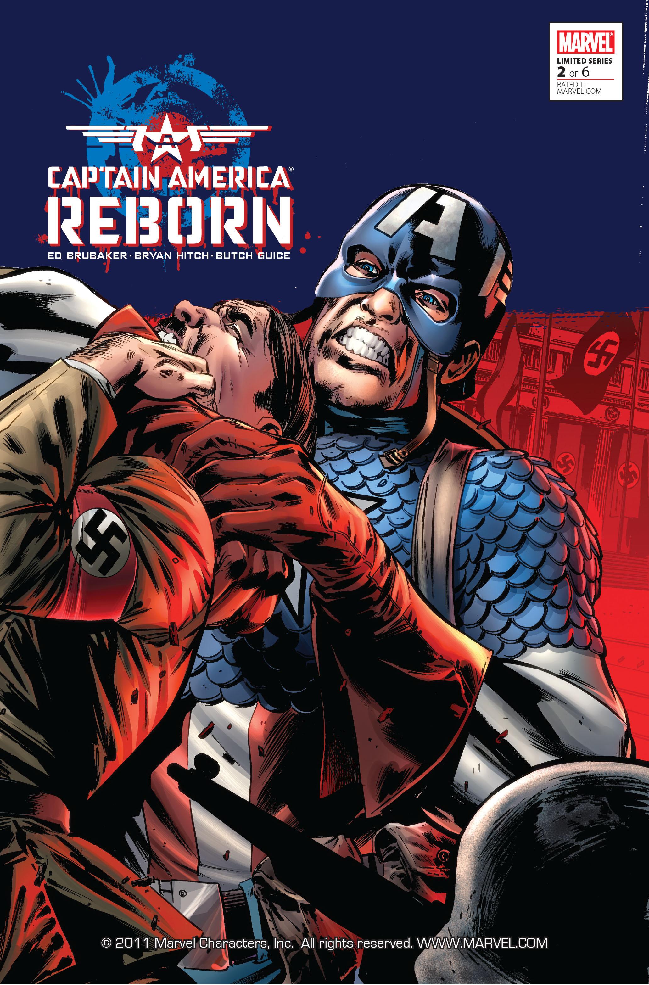 Captain America: Reborn 2 Page 1