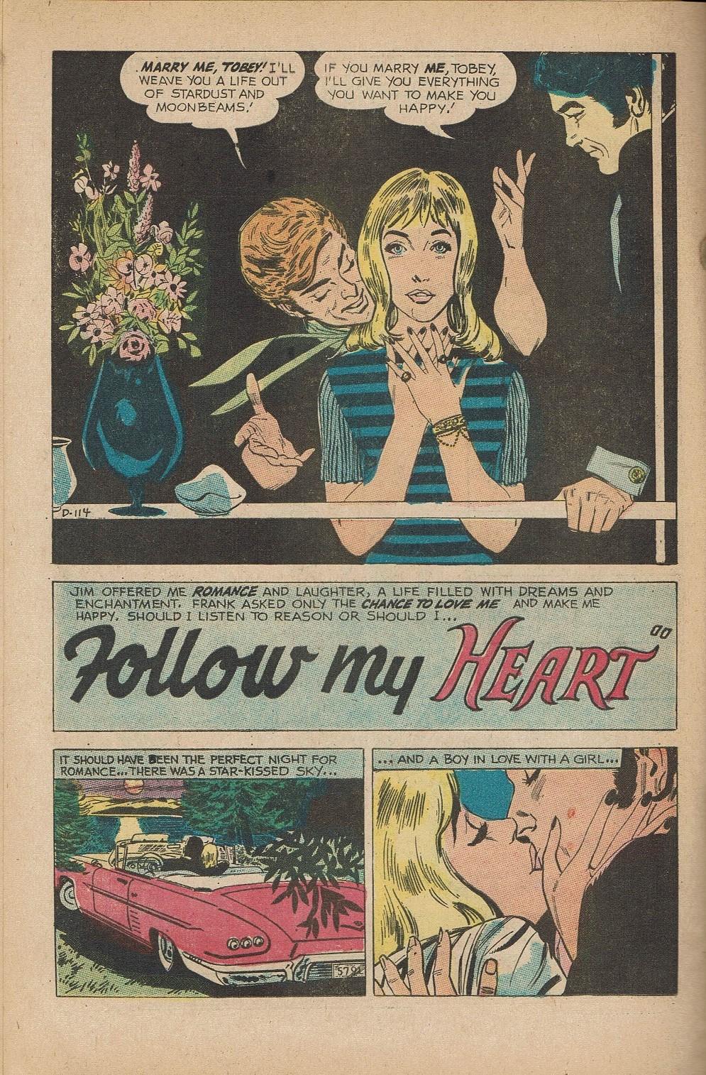 Read online Secret Hearts comic -  Issue #151 - 24