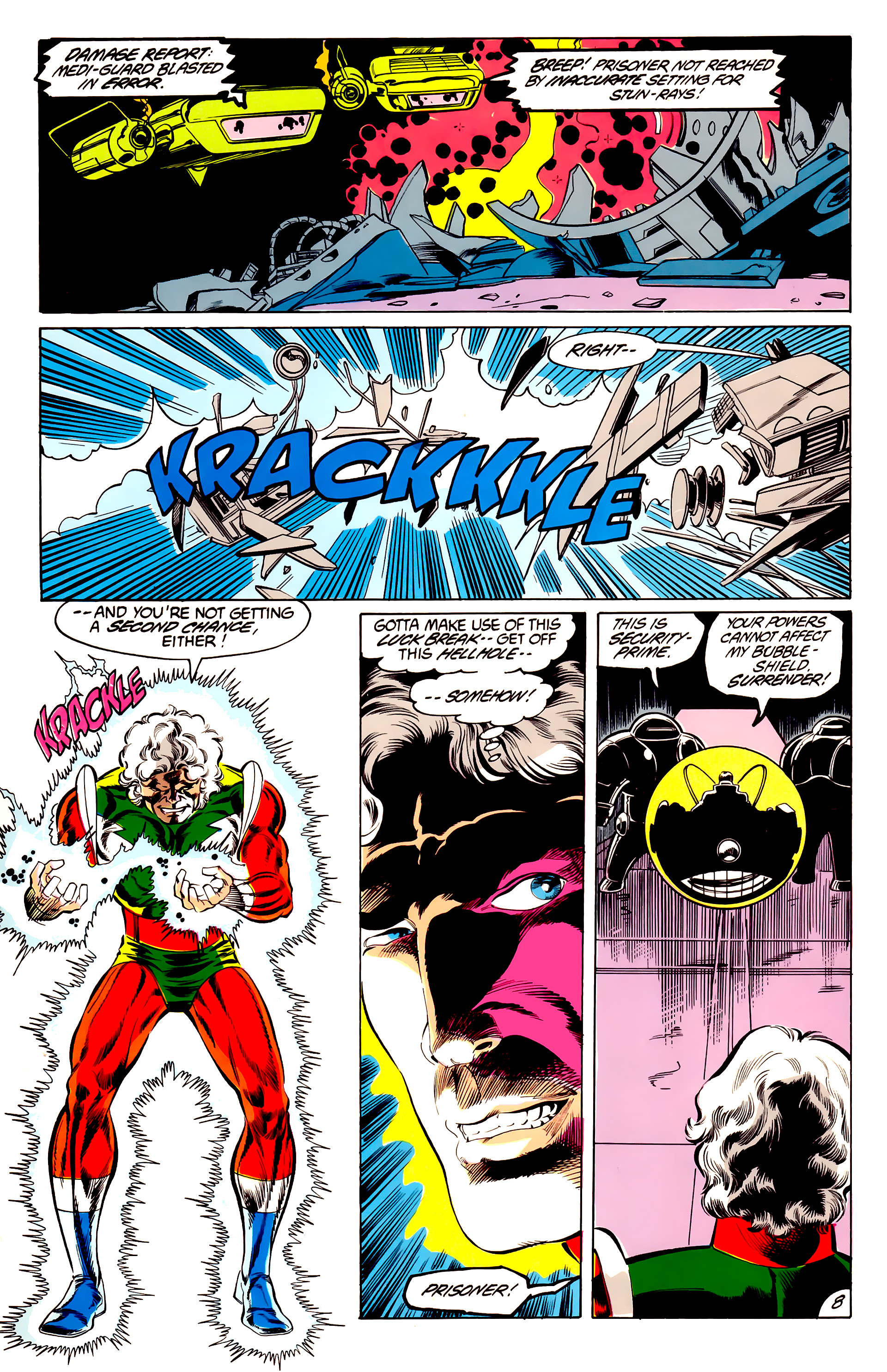 Legion of Super-Heroes (1984) 45 Page 8