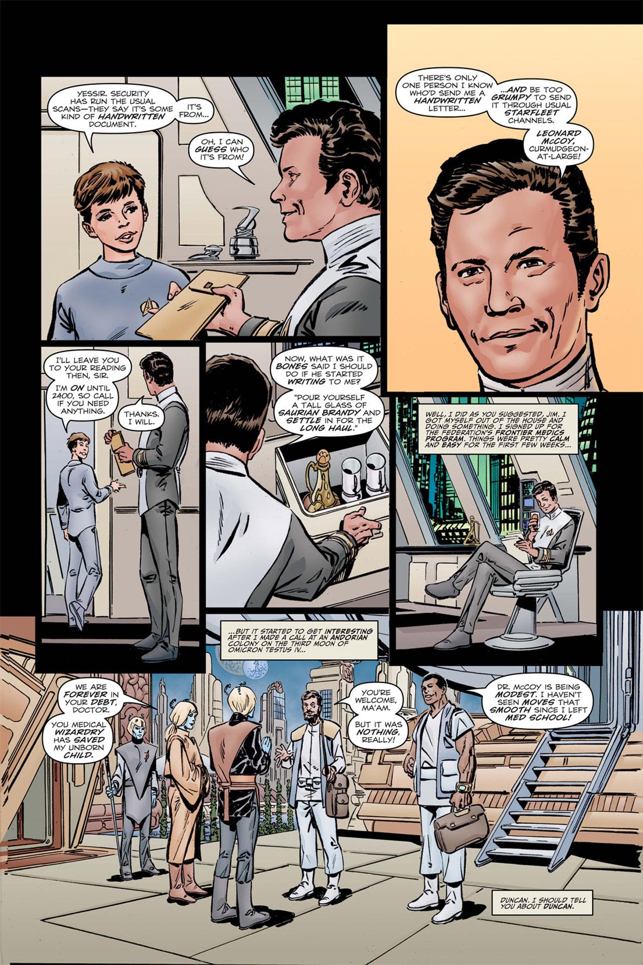 Read online Star Trek: Leonard McCoy, Frontier Doctor comic -  Issue #1 - 6