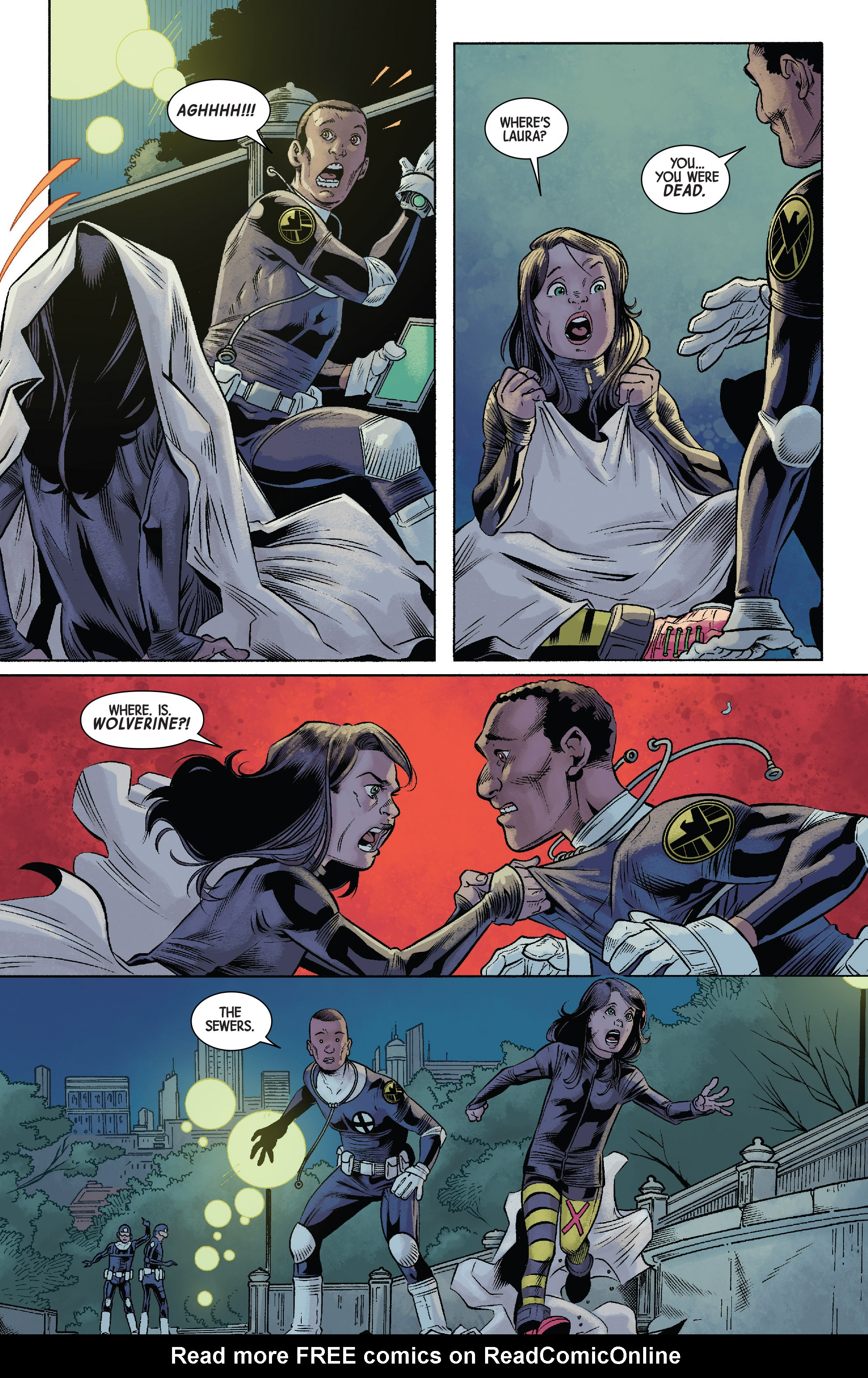 Read online All-New Wolverine (2016) comic -  Issue #12 - 14