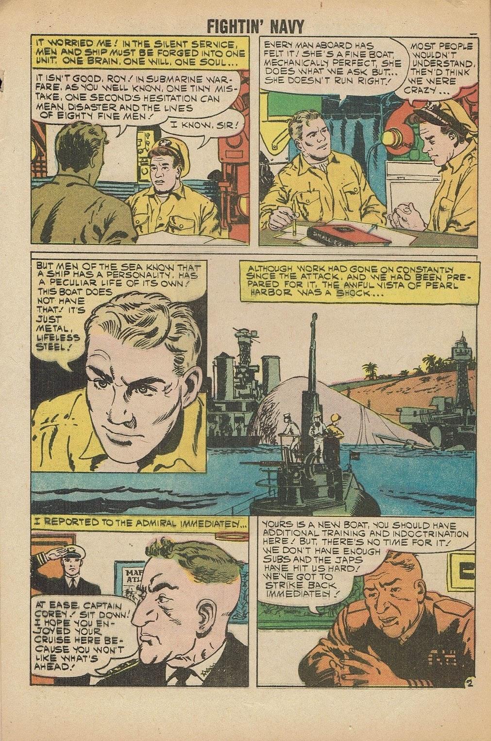 Read online Fightin' Navy comic -  Issue #91 - 4