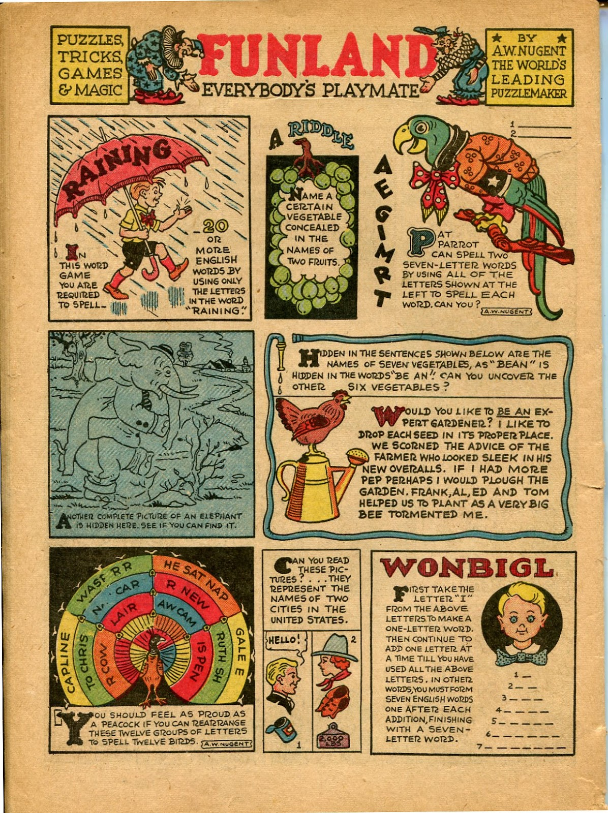 Read online Famous Funnies comic -  Issue #77 - 63