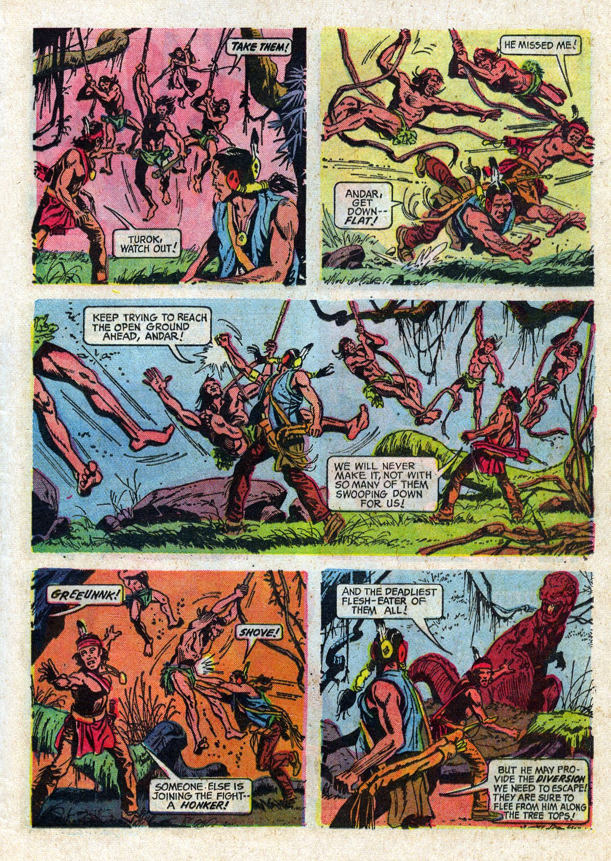 Read online Turok, Son of Stone comic -  Issue #61 - 25