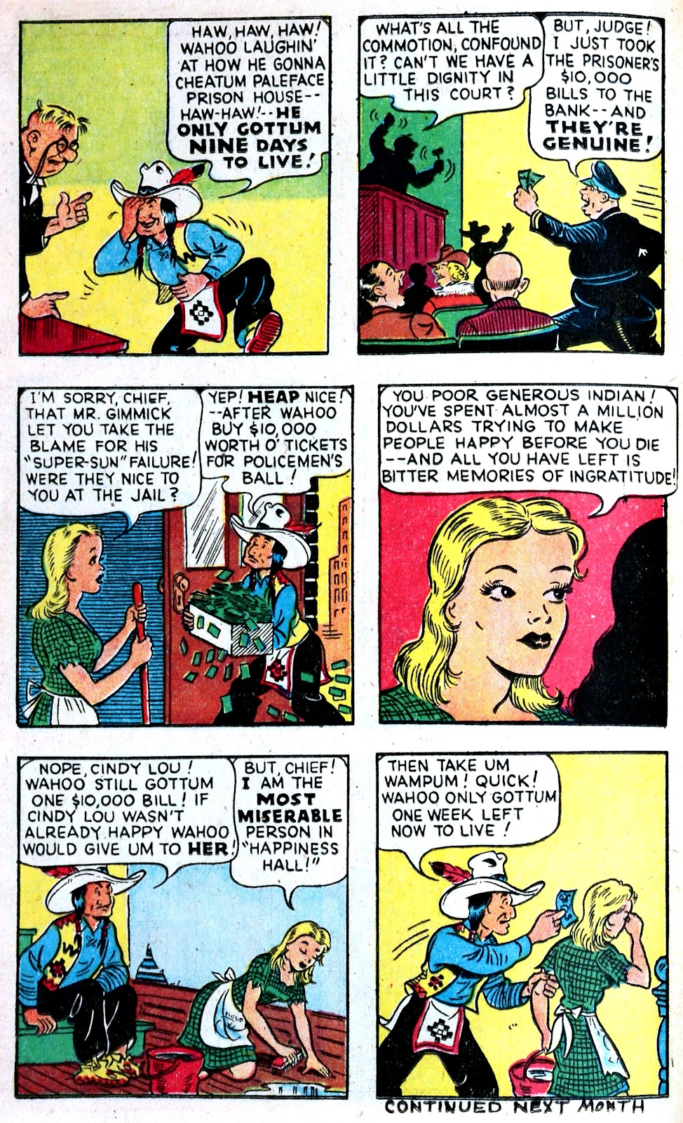 Read online Famous Funnies comic -  Issue #149 - 22