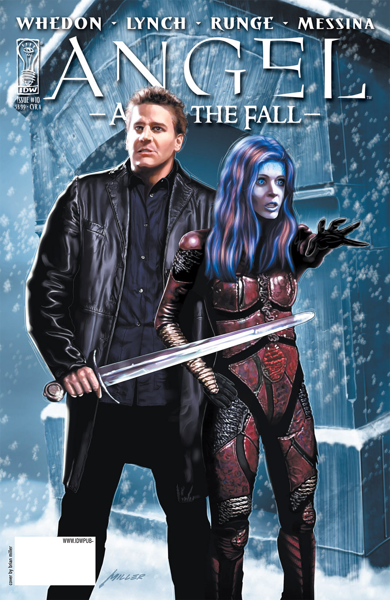 Read online Angel: After The Fall comic -  Issue #10 - 1