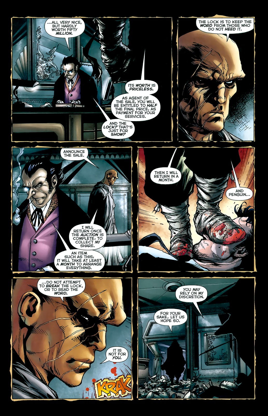 Crime Bible: The Five Lessons of Blood issue 3 - Page 5