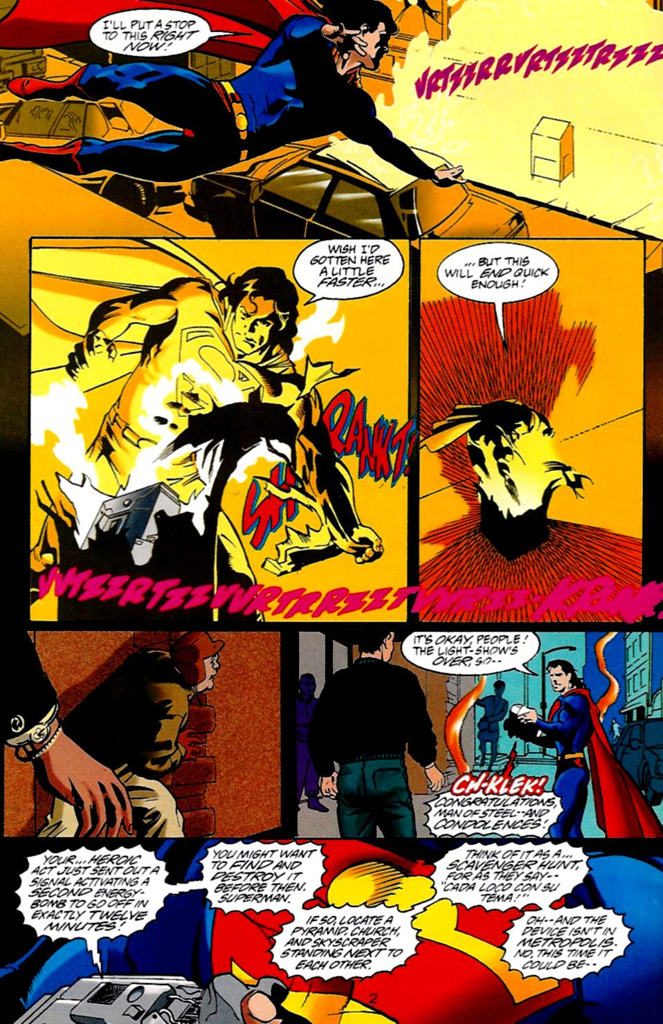 Read online Adventures of Superman (1987) comic -  Issue #533 - 3